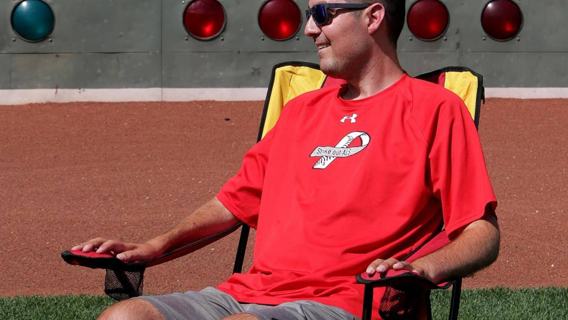 This undated photo shows Pete Frates.