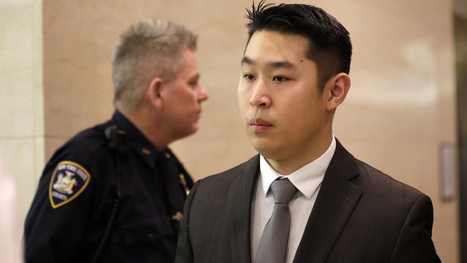 Officer Peter Liang in 2015.