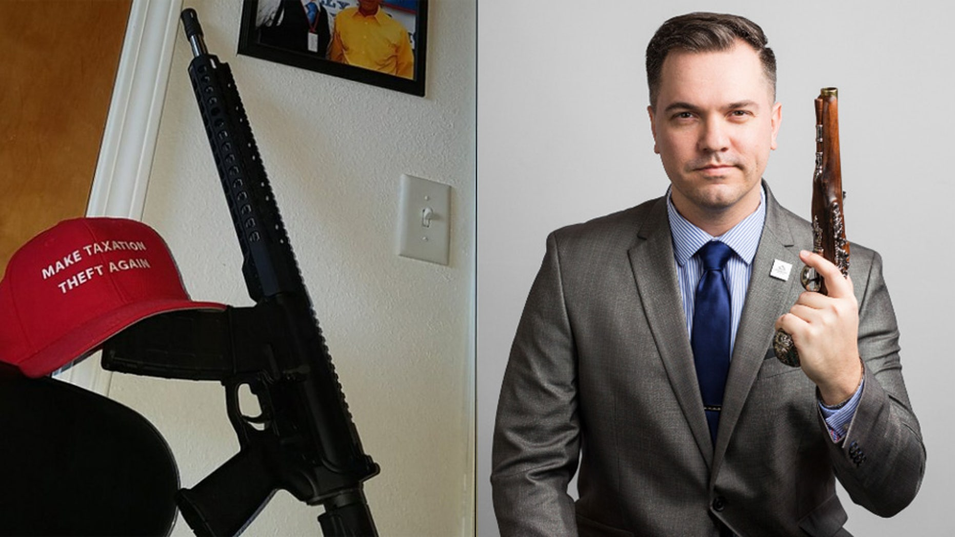 Austin Petersen, a Republican Senate candidate in Missouri, says Facebook has banned him from using the social network for 30 days because he used the site to promote his campaign's AR-15 giveaway.
