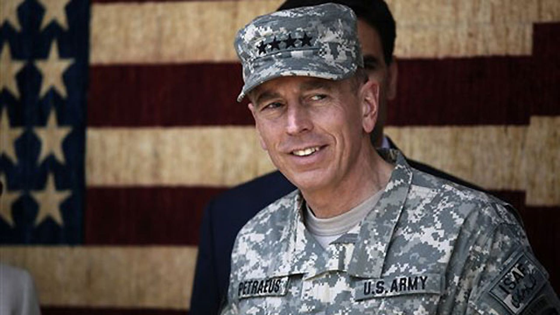 July 3: Gen. David Petraeus, the new commander of U.S. and NATO forces in Afghanistan, looks on during the Independence Day celebrations in Kabul, Afghanistan.