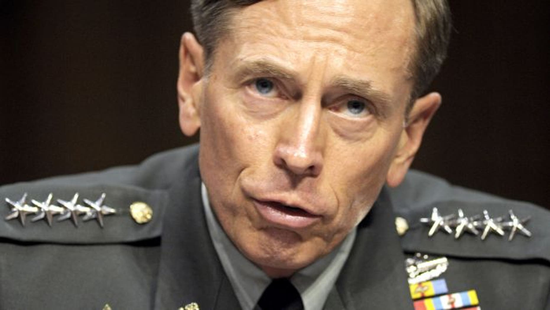 June 23,2011: The Senate has voted to confirm Gen. David Petraeus to be the nation's CIA director who is seen here testifying on Capitol Hill.