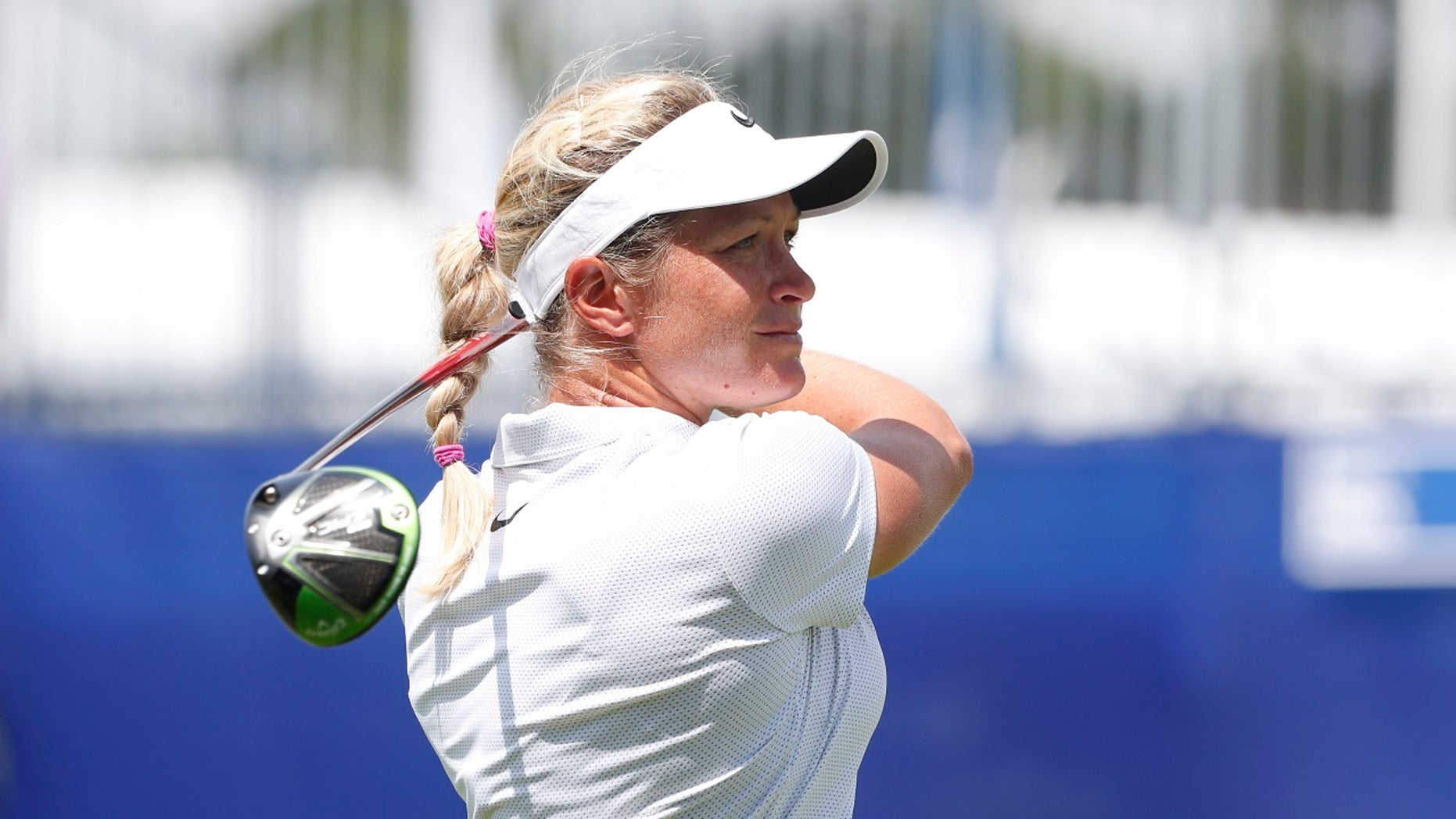 """Pro golfer Suzann Pettersen claims a Norwegian newspaper took her comments about President Donald Trump """"way out of context."""""""
