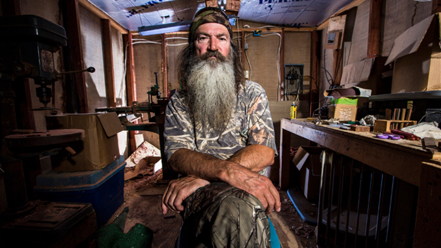 "FILE: Phil Robertson, the patriarch of the popular series ""Duck Dynasty,"" was reinstated by the network on Friday, Dec. 27."