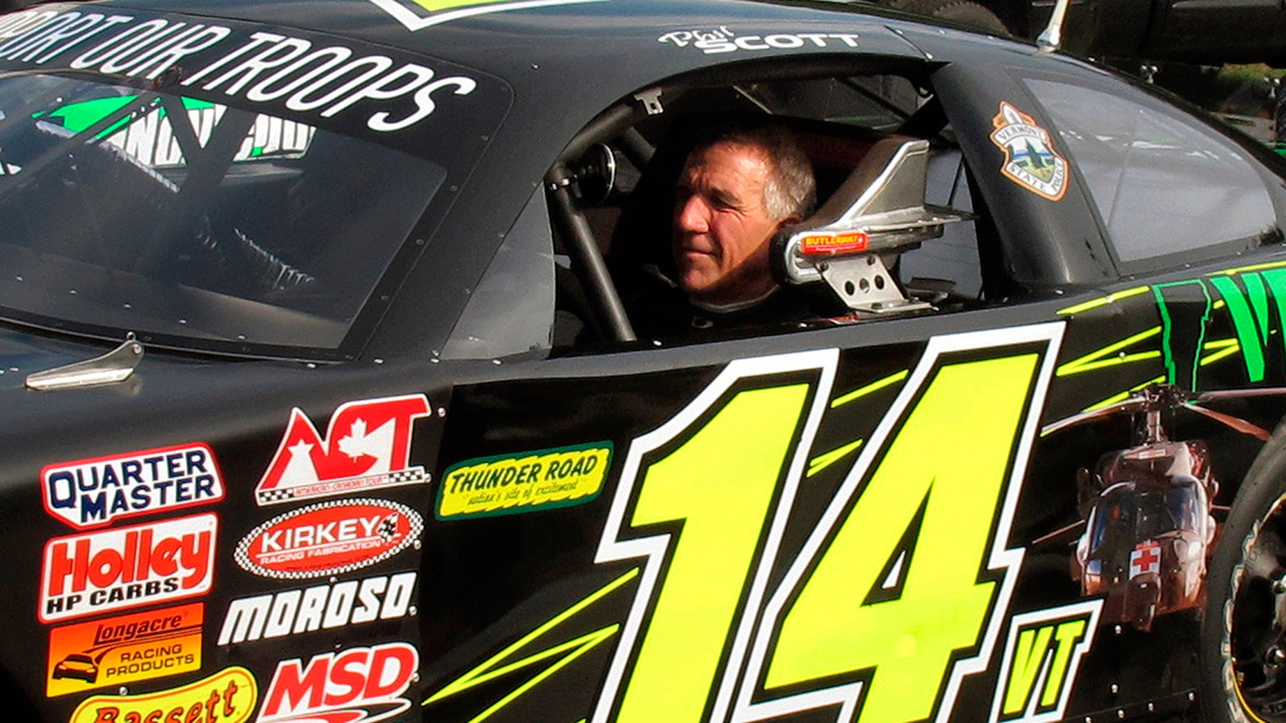 Scott at Thunder Road Speedbowl in July 2017.