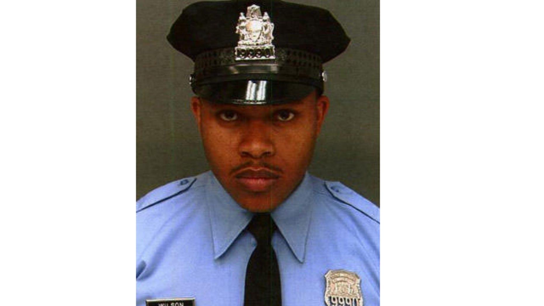 Officer Robert Wilson III was killed in a confrontation in Philadelphia.