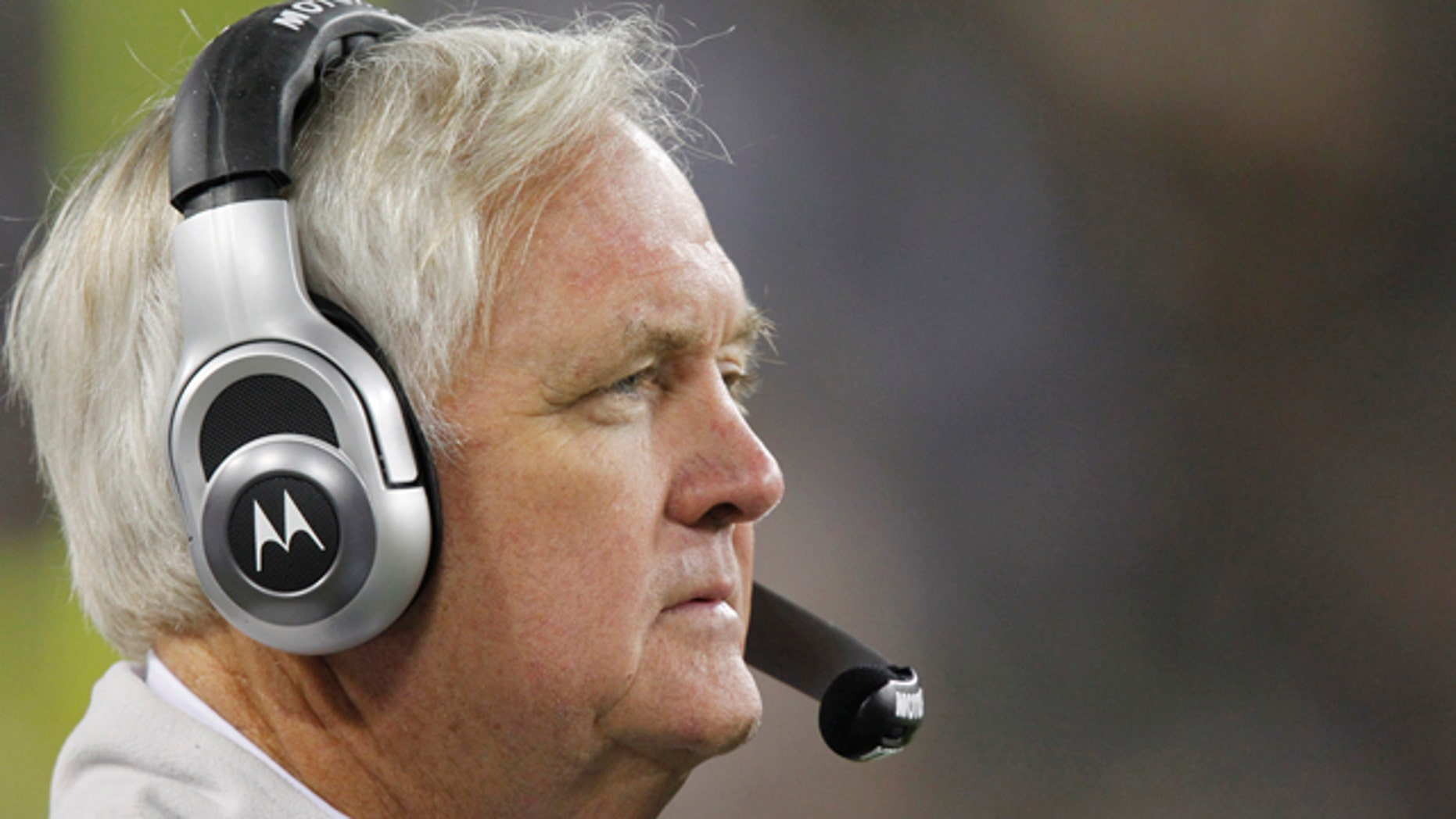 Nov. 7: Dallas Cowboys head coach Wade Phillips watches from the sidelines during the second half of an NFL football game against the Green Bay Packers in Green Bay, Wis. The Packers won 45-7. (AP)