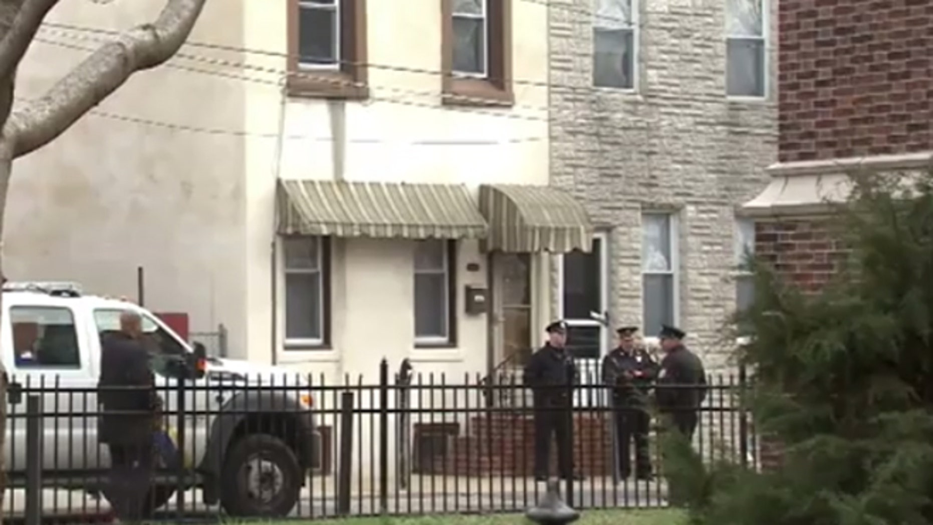 Feb. 26, 2018: A veteran Philadelphia police officer and a man were found dead at this home in the Port Richmond neighborhood of the city.