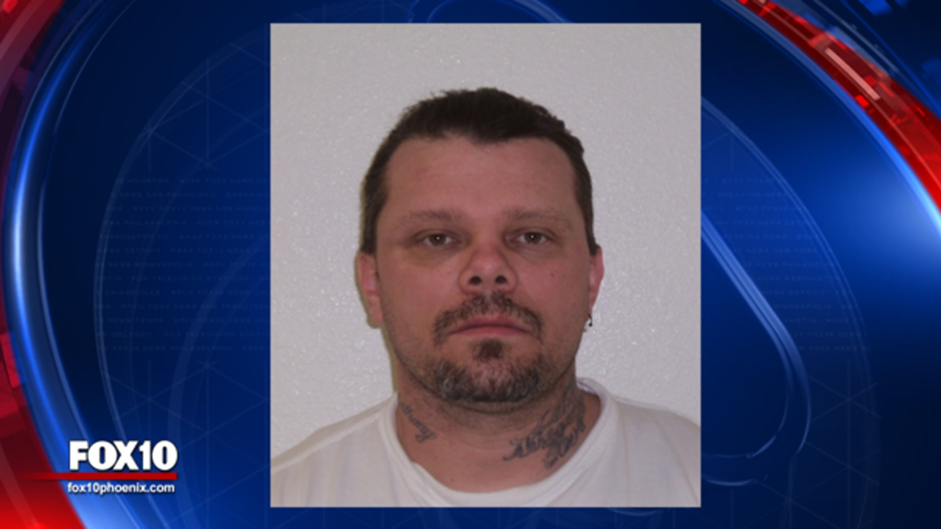 Phoenix Police say Randy Layton escaped from the Arizona State Hospital.