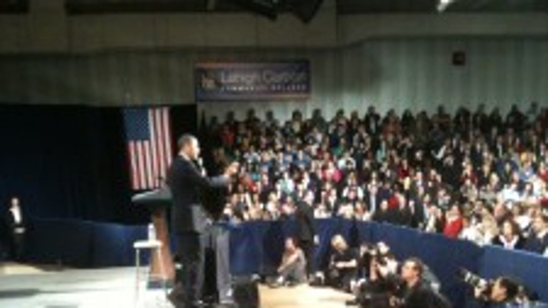 President Obama makes remarks in Pennsylvania