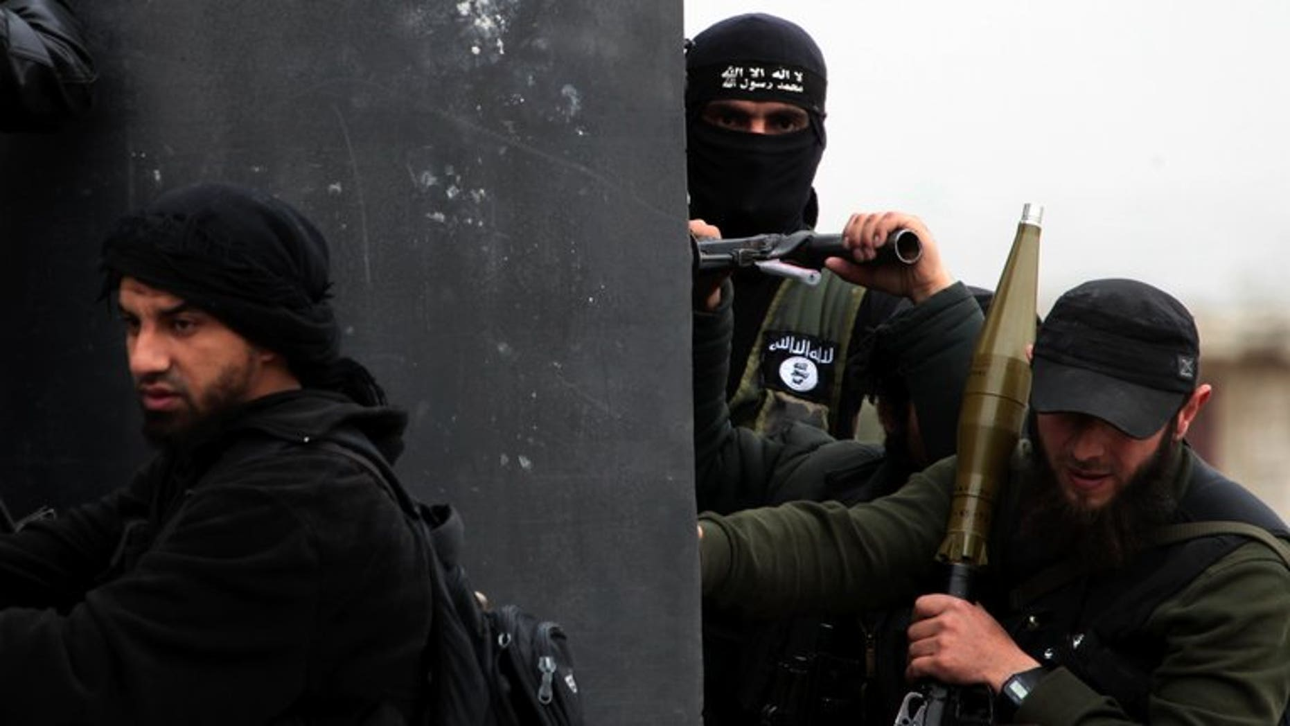Al-Nusra fighters arrive to hold positions in the Syrian village of Aziza on the southern outskirts of Aleppo on April 4, 2013. For years, Maher Sukkar, a Palestinian living in Lebanon, belonged to a boy scout troupe and played music. No one expected him to join the radical Al-Nusra Front and die fighting in Syria.