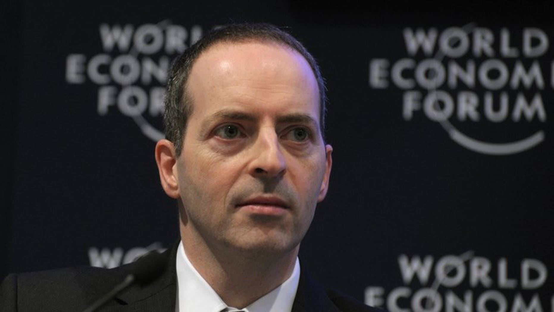 BT chief executive Ian Livingston at the World Economic Forum in Davos on January 27, 2011. Livingston has agreed to switch jobs to join the coalition government as trade minister, Prime Minister David Cameron announced on Wednesday.