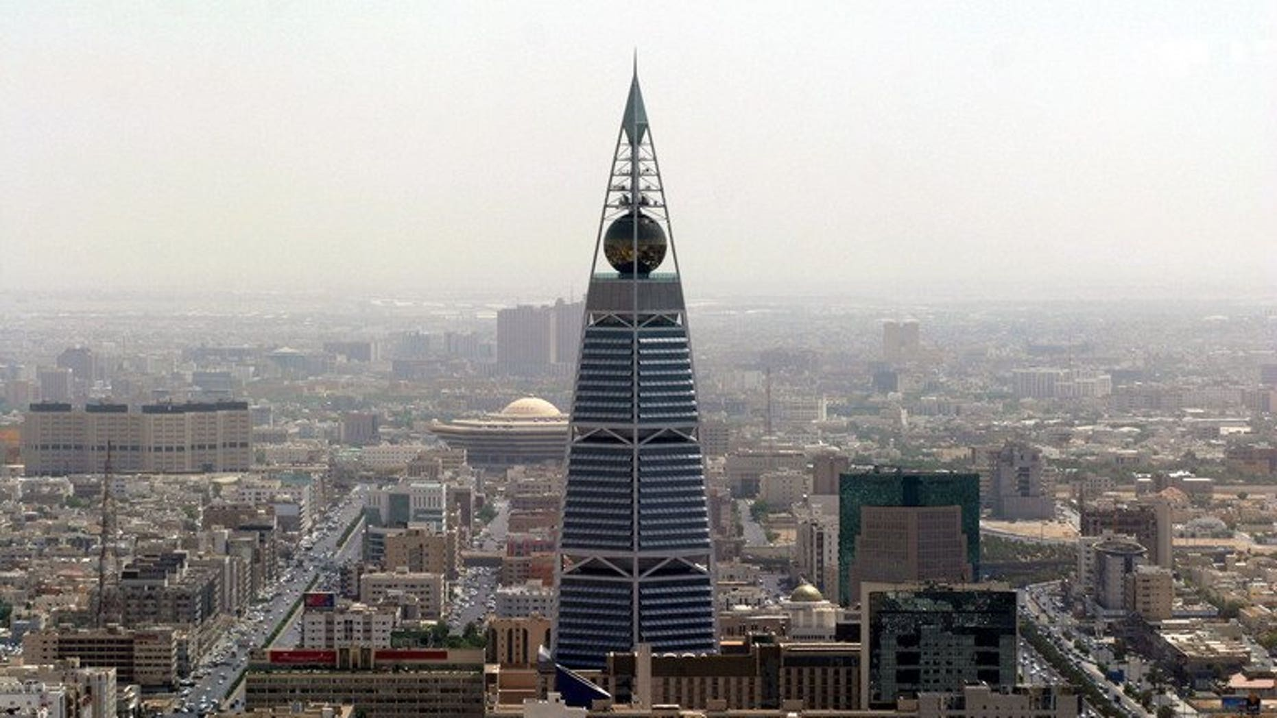 A general view of the Saudi capital Riyadh, on March 7, 2007. Human Rights Watch has criticised Saudi Arabia's criminal justice system after a court sentenced a prominent human rights activist to five years in prison over his writings.