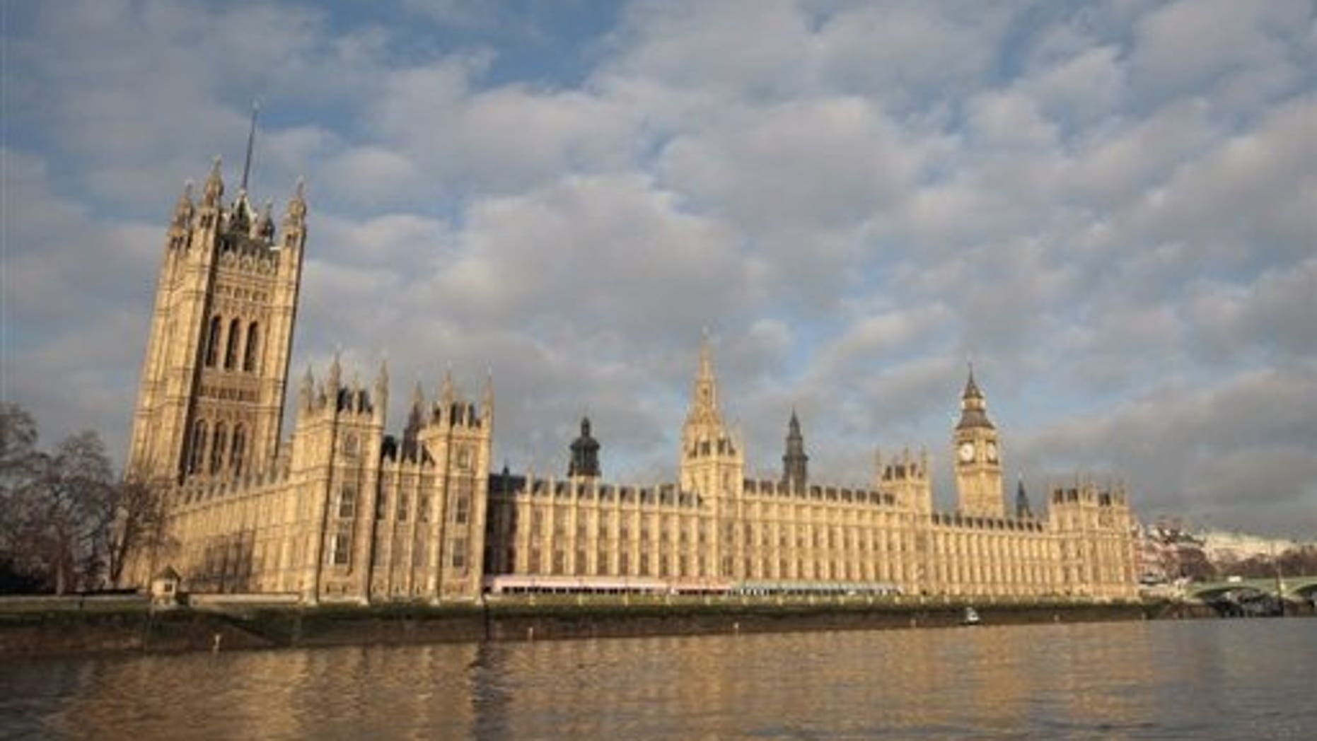 The British Houses of Parliament are pictured in central London on January 26, 2009. The parliament is to spend up to ??100,000 ($150,000) on refurbishing two toilets used by members of the House of Lords and guests, it has emerged.