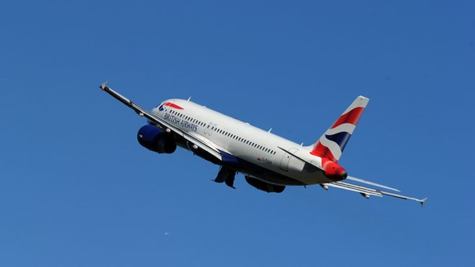 A British Airways passenger plane takes off from Heathrow Airport, west of London, on May 24, 2010. Sri Lanka Cricket said Tuesday it will investigate reports a drunk player tried to open a cabin door at 35,000 feet (10,600 metres) during a flight from St Lucia to London.