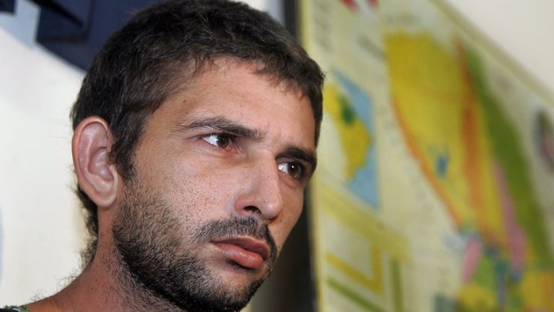 Rayfran das Neves Sales, pictured February 21, 2005, has been placed under house arrest in Brazil after serving only eight years for the murder of US-born missionary nun Dorothy Stang.