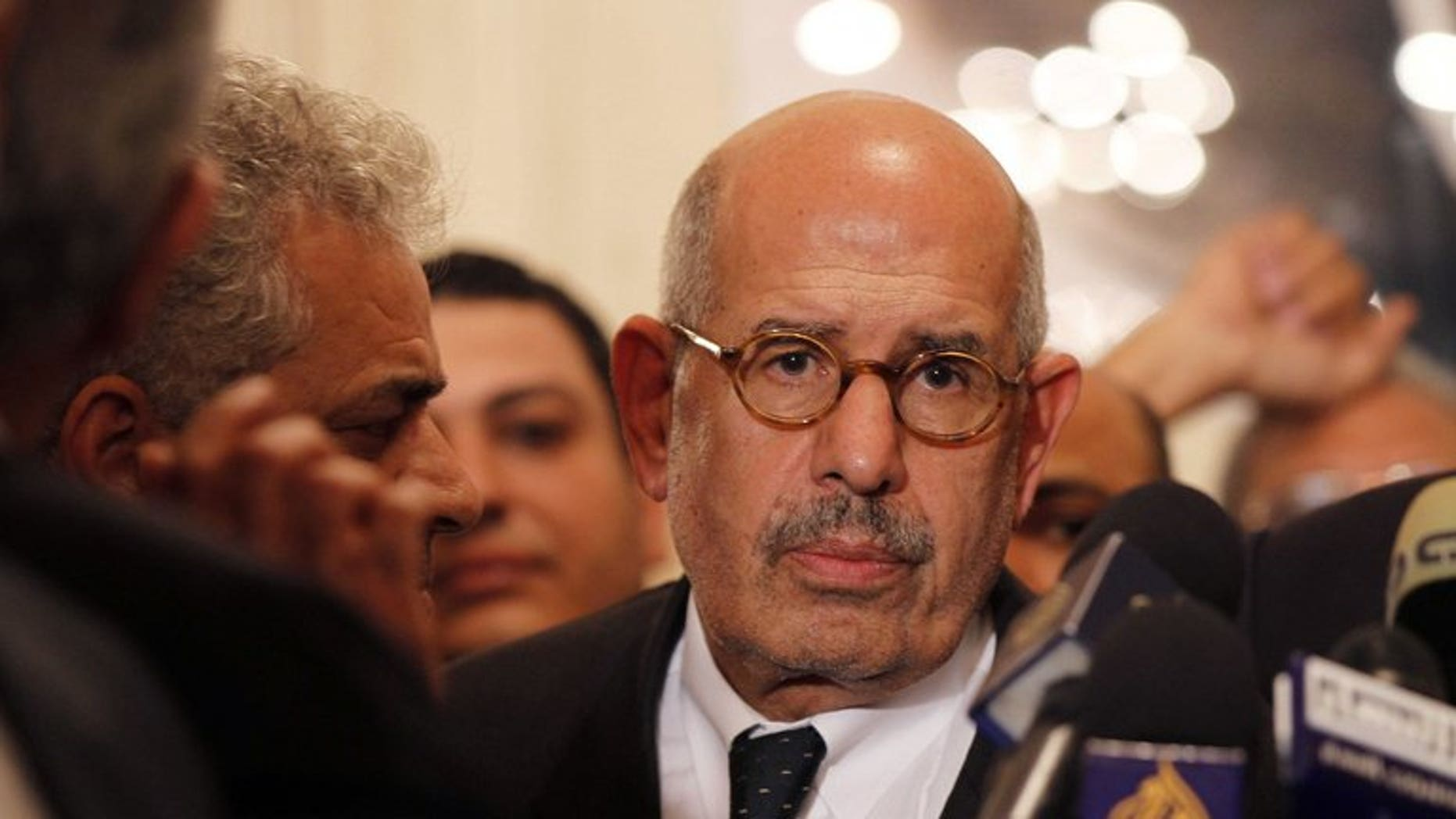 Mohamed ElBaradei, pictured on November 22, 2012, in Cairo, has been chosen as Egypt's new prime minister, the Tamarod campaign behind the protests that toppled Islamist president Mohamed Morsi said on Saturday after talks with the country's interim president.