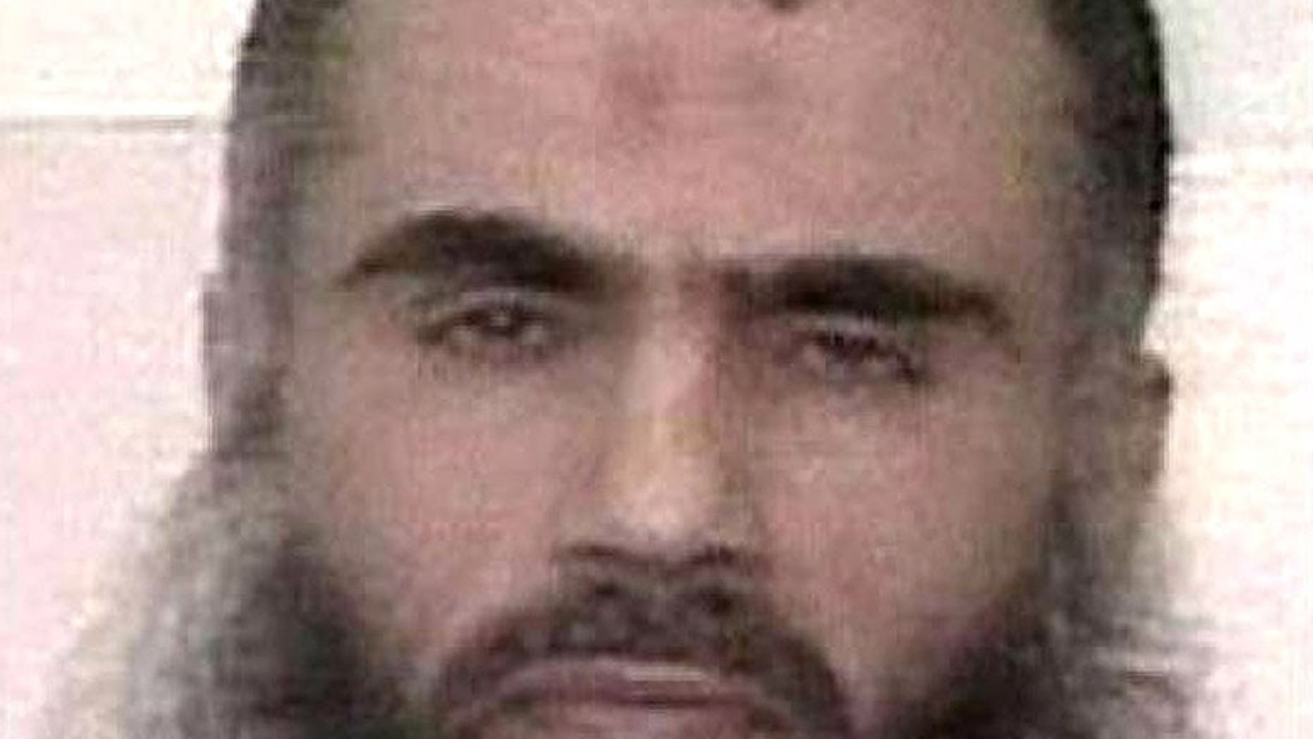 A SITE Intelligence Goup picture released on March 27, 2009 of Abu Qatada. Prime Minister David Cameron spoke of his delight on Sunday after Britain finally succeeded in deporting the radical Islamist cleric Abu Qatada to Jordan following a decade-long legal saga.