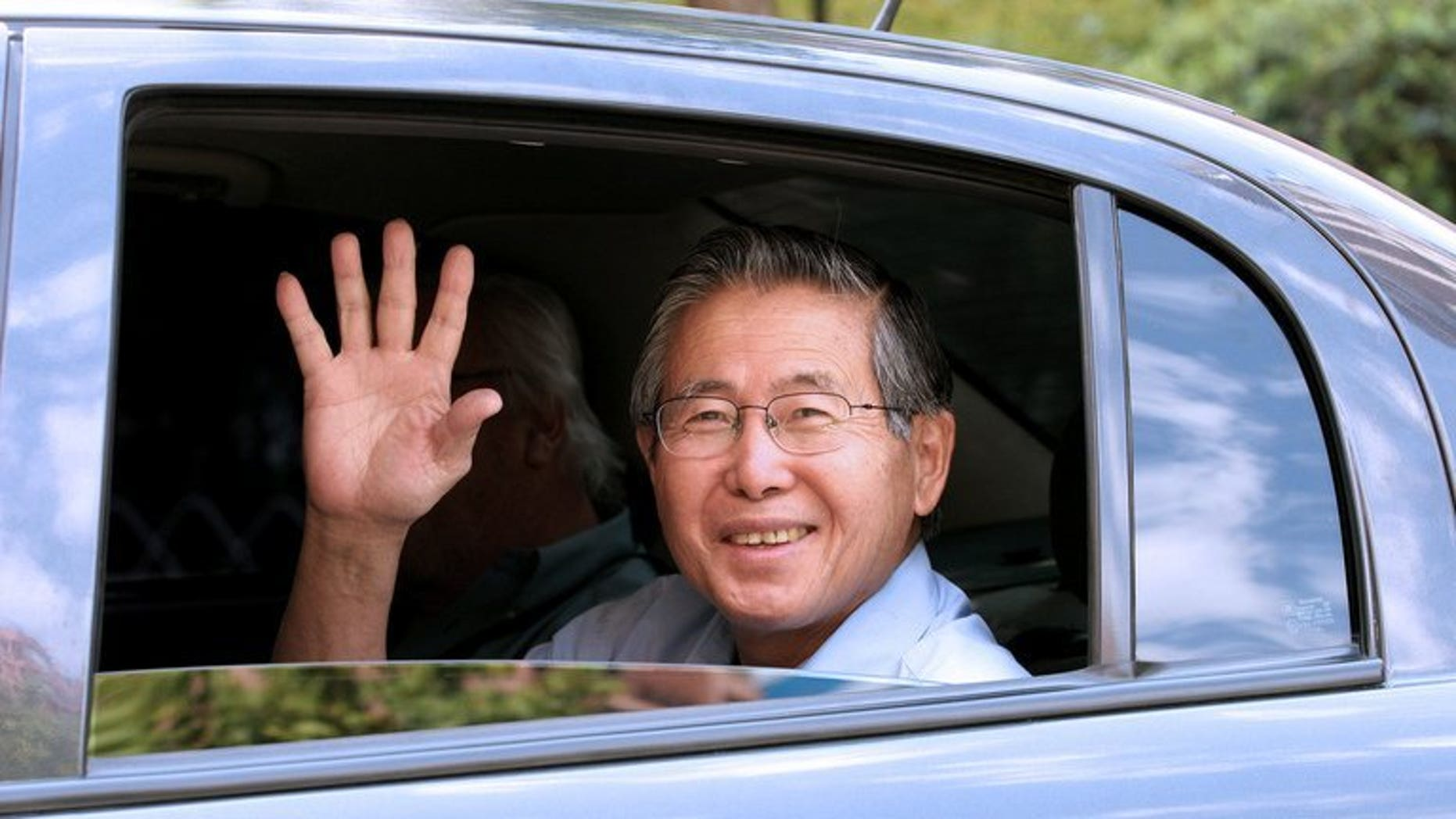 Peru's former president Alberto Fujimori, in prison for rights abuses during his 10-year rule, pictured on February 20, 2007, said Tuesday he's writing his autobiography.