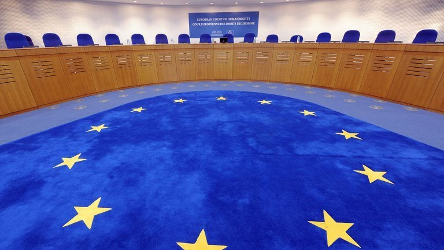 A general view of the European Court of Human Rights (ECHR) in Strasbourg, eastern France taken on August 28, 2012. Judges at the ECHR on Friday denied a British woman's bid for compensation for being wrongly imprisoned for killing her four-month-old son.
