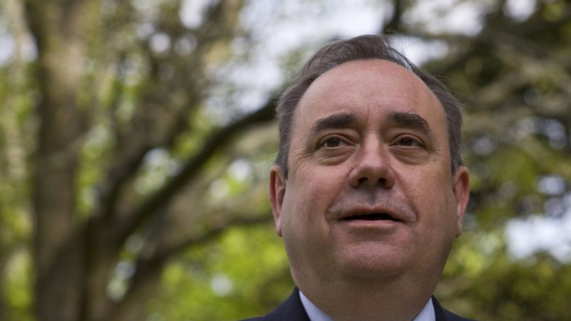 Scottish First Minister Alex Salmond, pictured in Edinburgh, Scotland, on May 6, 2011, has confirmed he will boycott next week's British Open over Muirfield's all-male membership policy.