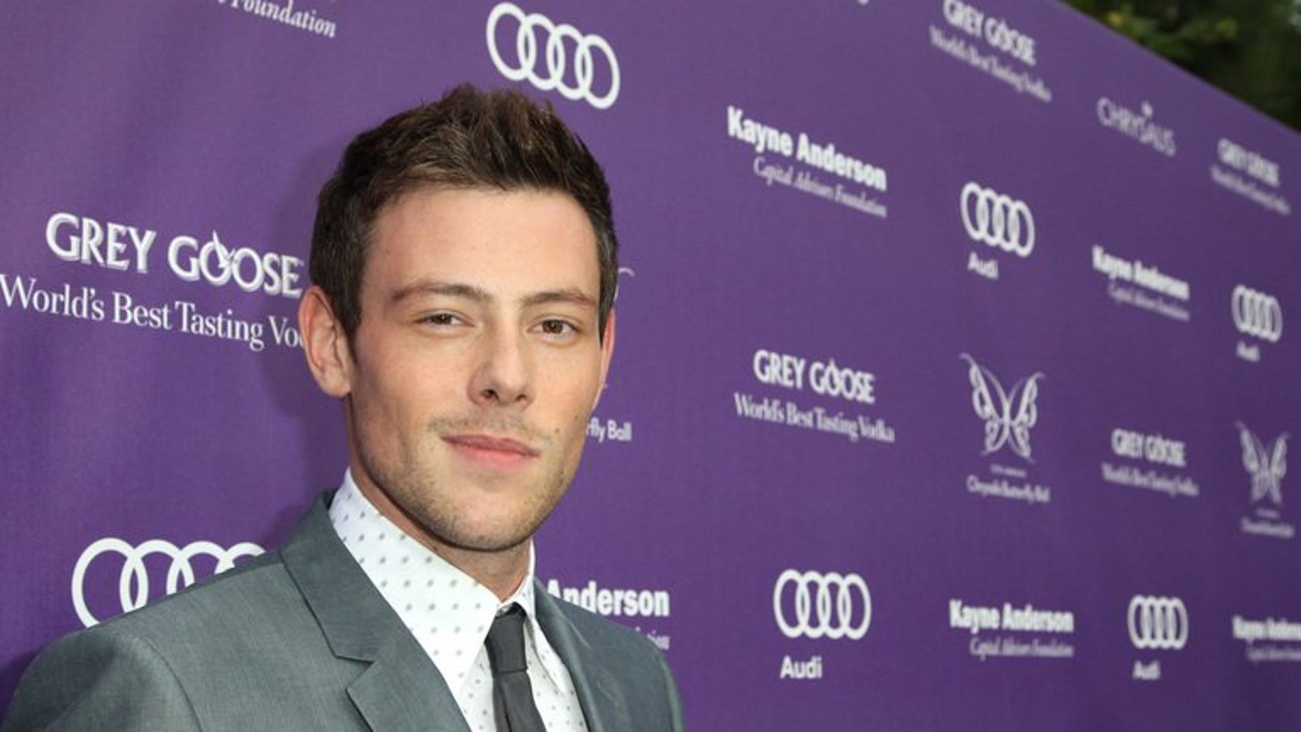 Actor Cory Monteith is pictured at the Chrysalis Butterfly Ball on June 8, 2013 in Los Angeles, California. The 'Glee' TV series star has been found dead in his hotel room in the western Canadian city of Vancouver, local police reported.