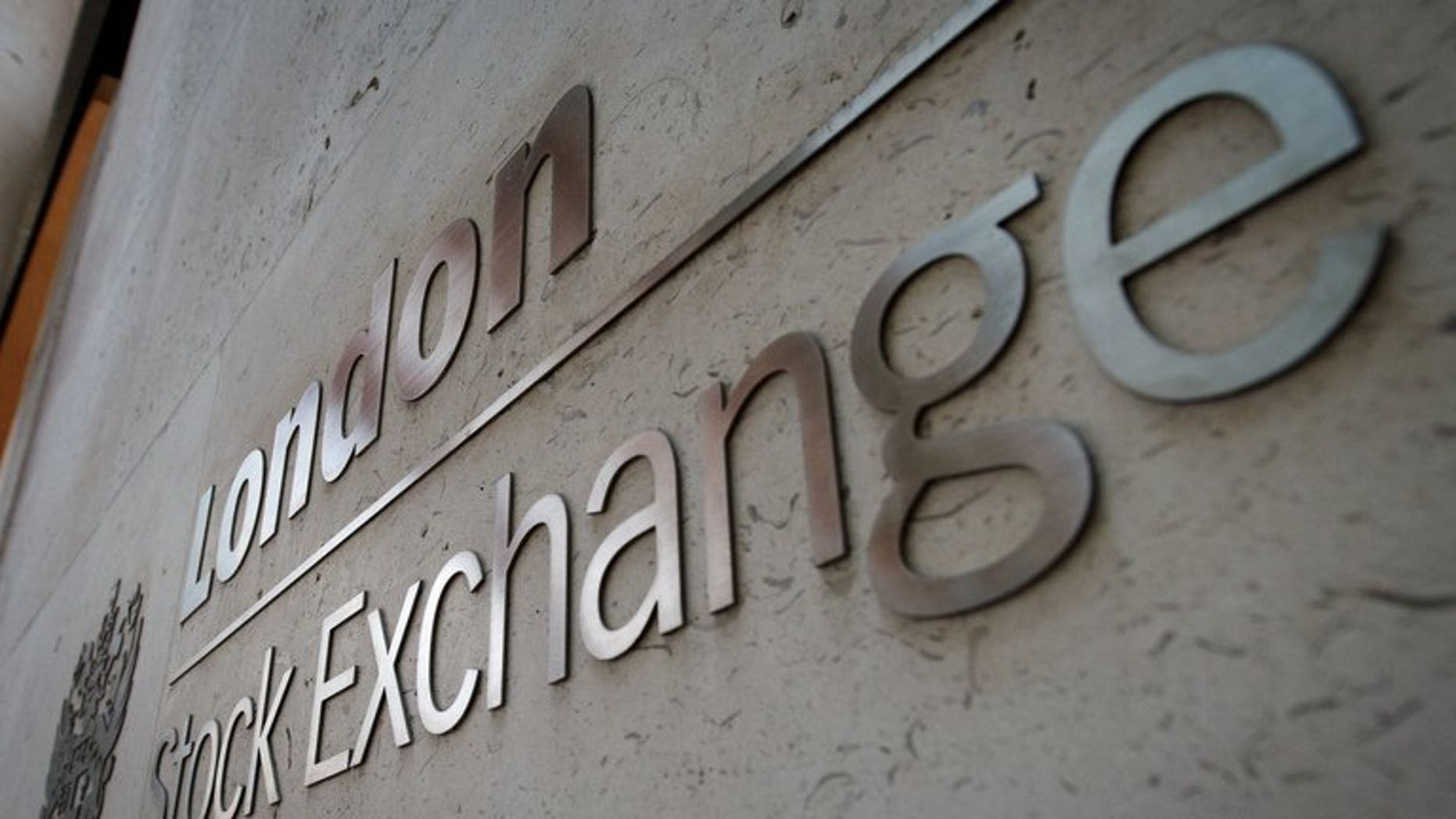 The London Stock Exchange building in central London, pictured on March 7, 2013. London equities rose at the start of trading on Monday, mirroring the picture across most Asian indices following in-line Chinese economic growth data.