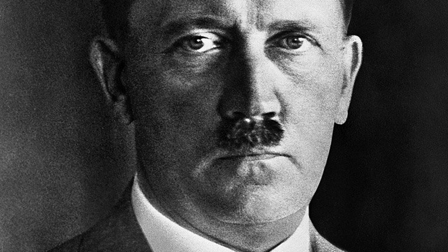An undated portrait of Nazi leader Adolf Hitler. One of Thailand's most prestigious universities has apologised after students created a large mural depicting Hitler among a host of comic book superheroes during graduation celebrations.