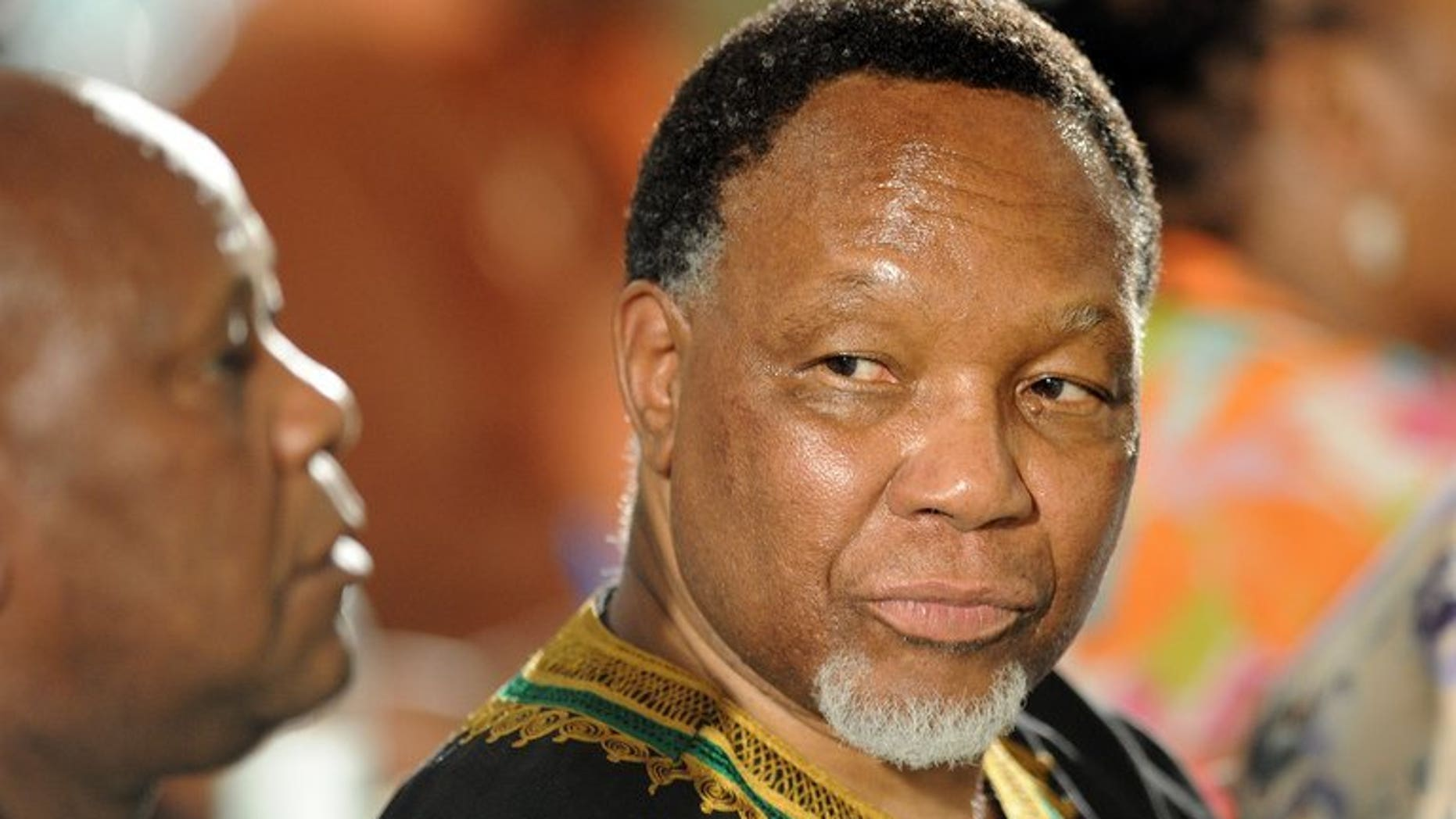 South African deputy president Kgalema Motlanthe attends the 53rd National Conference of the African National Congress (ANC) in Bloemfontein, December 18, 2012. Motlanthe has warned that his ruling ANC party risks losing power if it fails to remain relevant to the people, the Financial Times reported Monday.