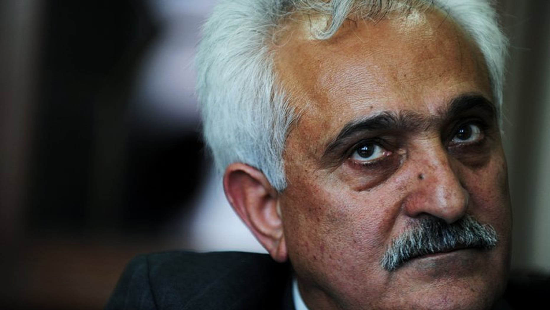 Afghan national security adviser Rangin Dadfa Spanta gives an interview to AFP in Kabul on July 5, 2010. Gunmen on Wednesday assassinated Spanta's brother outside a public bathhouse in the family's relatively peaceful home province, police said.