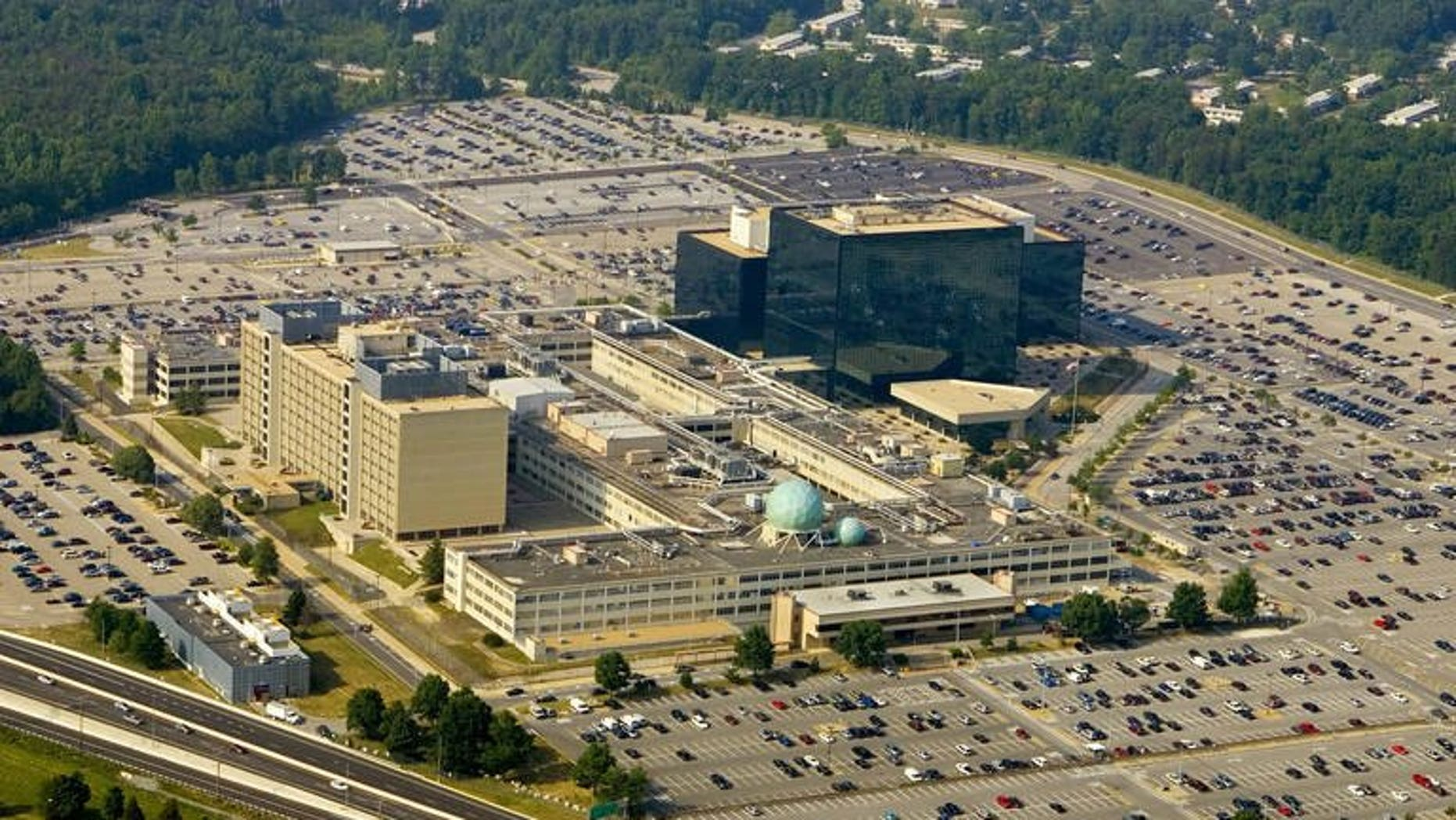 The US National Security Agency (NSA), pictured May 31, 2006 in Fort Meade, Maryland. Britain's electronic eavesdropping agency GCHQ did not illegally use data from the NSA's secret PRISM intelligence programme exposed by Edward Snowden, MPs have said.