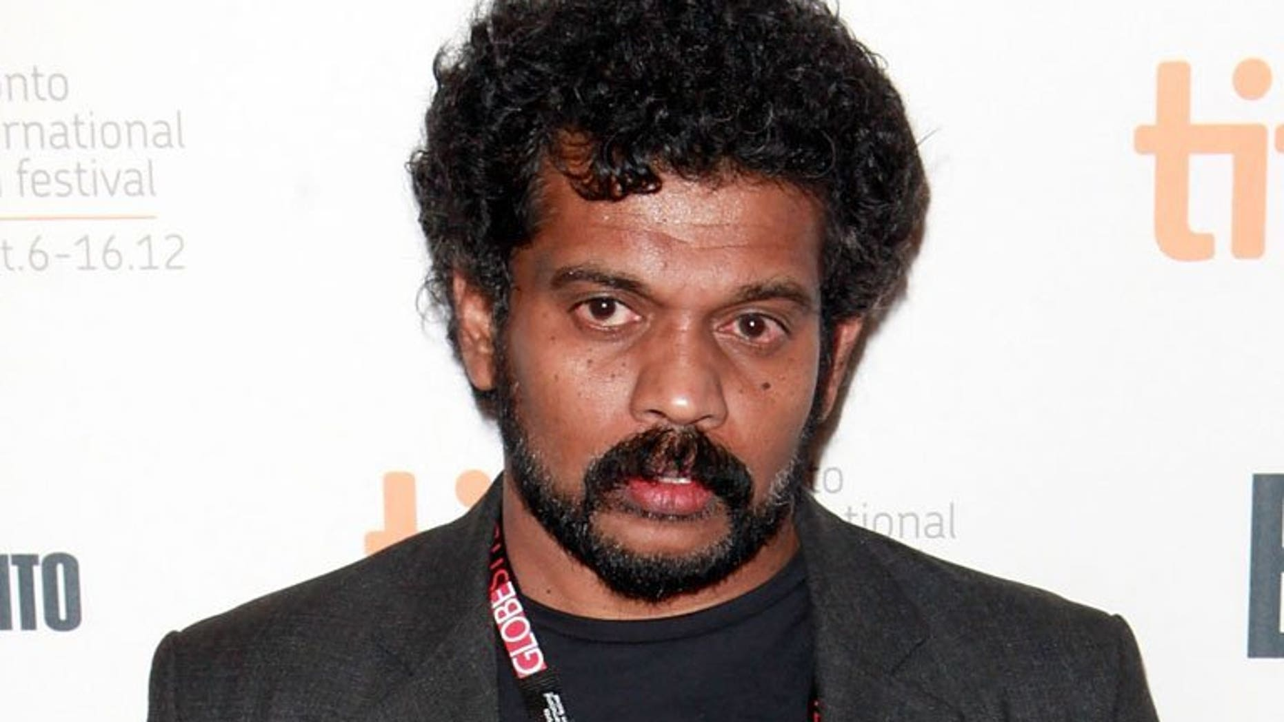 """Director Asoka Handagama attends the Toronto International Film Festival on September 7, 2012 in Canada. Handagama's latest film """"Ini Avan"""" explores the aftermath of the 26-year Sri Lankan civil war following its """"catastrophic"""" end four years ago."""