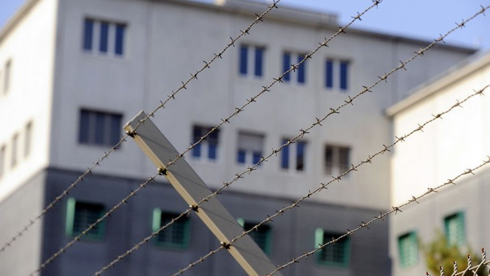 """File picture shows a prison in Kloten, Switzerland on September 27, 2009. A Bosnian from the """"Pink Panther"""" gang of international jewel thieves escaped from a Swiss prison in a dramatic break-out involving a fellow inmate and two armed accomplices, police said Friday."""