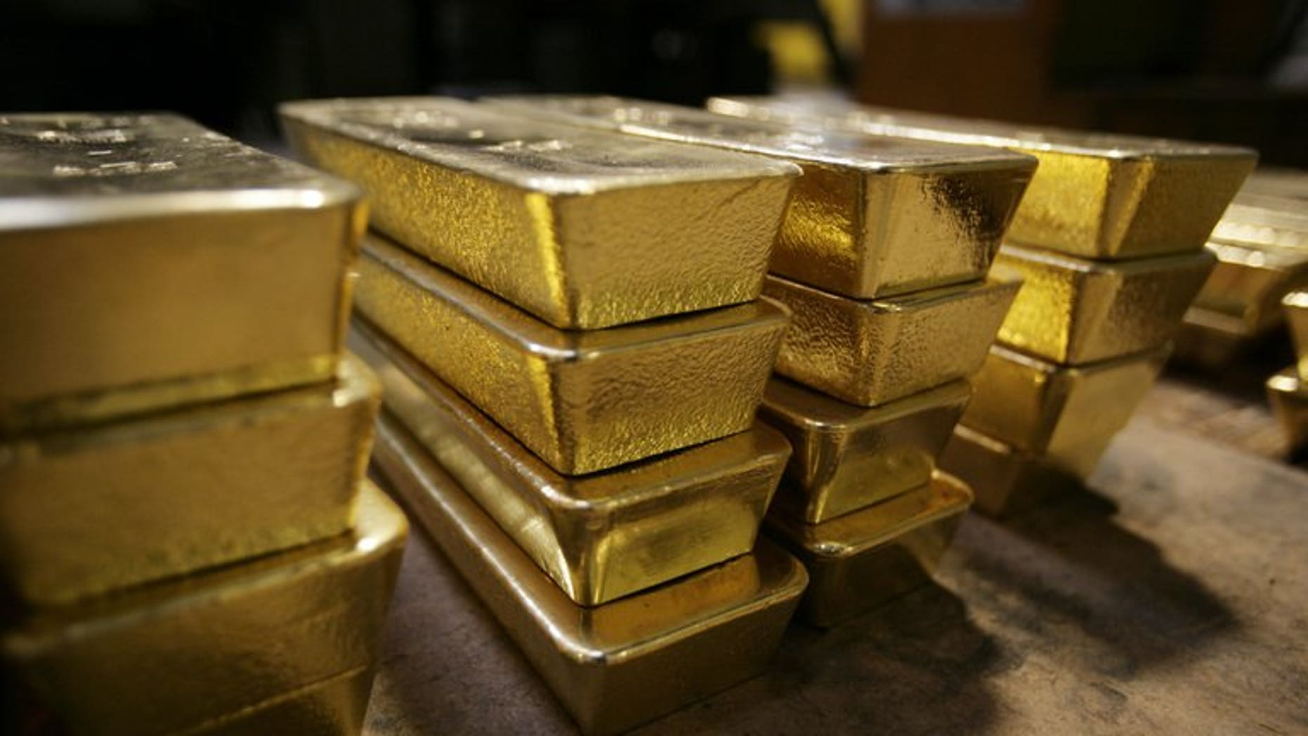 Seizure of smuggled gold in India soared 365 percent in the first quarter of the year, a report said Saturday, following curbs on imports of the precious metal to plug a yawning trade gap.