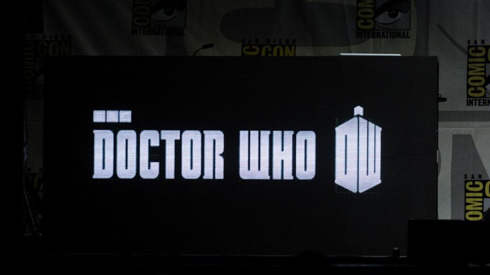 "A general view of BBC America's ""Doctor Who"" 50th Anniversary panel during Comic-Con International 2013 at San Diego Convention Center on July 21, 2013. The new Doctor Who will be unveiled in front of a live audience at a special show on Sunday, the BBC announced"