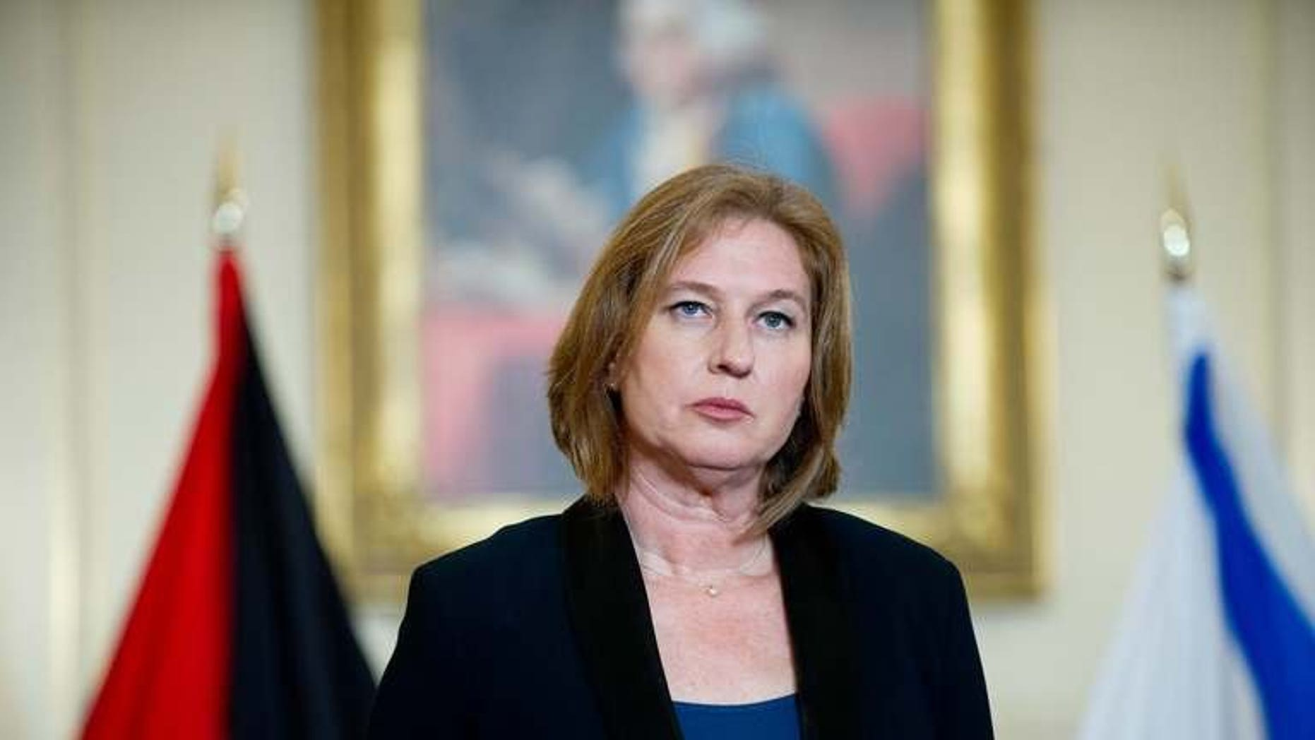 Israel's chief negotiator and Justice Minister Tzipi Livni, pictured at the State Department in Washington, DC, on July 30, 2013. The next round of direct Israeli-Palestinian peace talks will take place in the region during the second week of August, Livni said on Saturday.