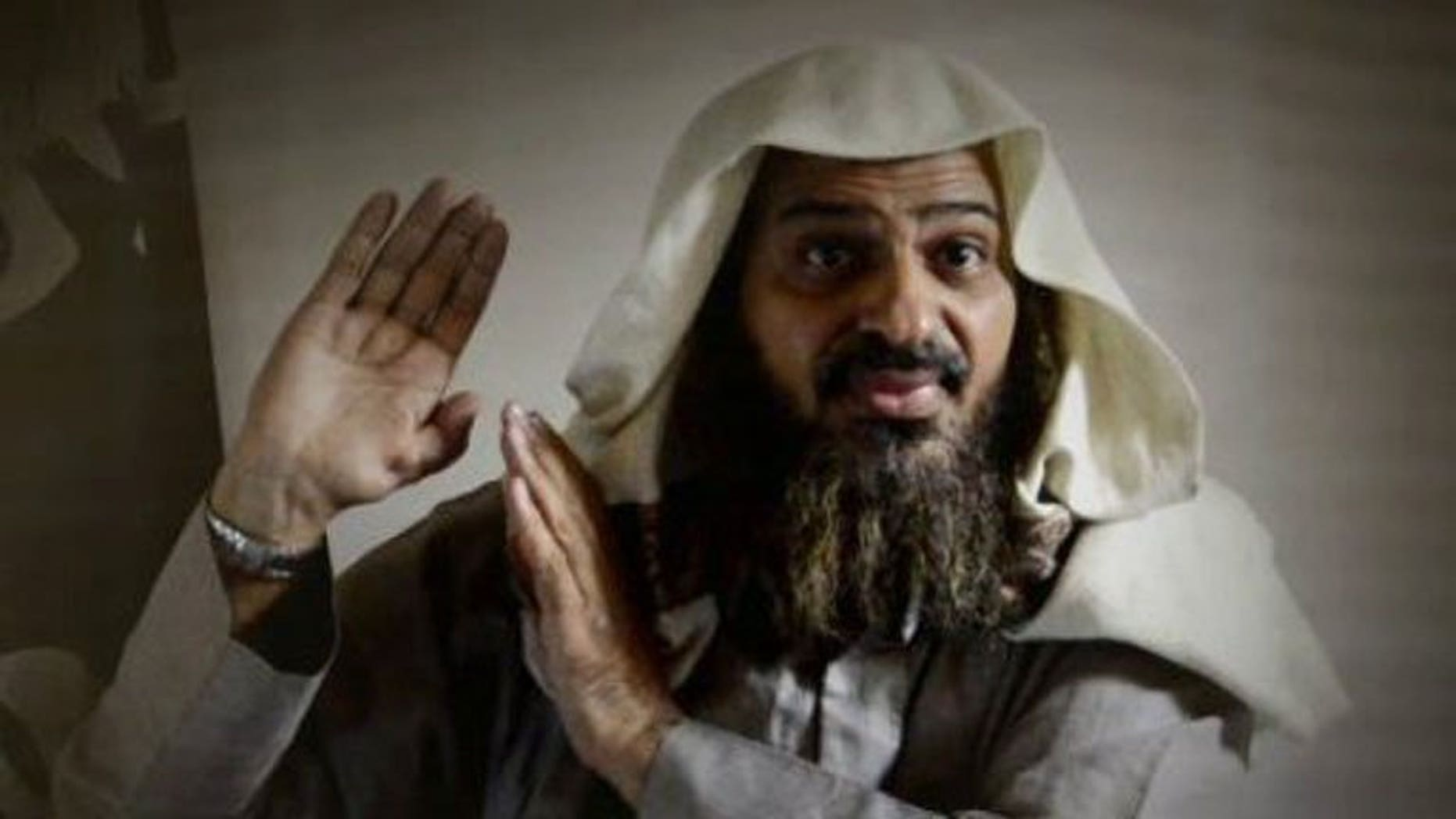 A picture released on July 17, 2013 by the Site Intelligence Group shows an image of then deputy leader of Al-Qaeda in the Arabian Peninsula (AQAP) Sheikh Saeed al-Shehri, aka Abu Sufyan al-Azdi. In mid-July AQAP confirmed the death in a US drone strike of al-Shehri, a former Guantanamo Bay prisoner in Cuba who had undergone rehabilitation in Saudi Arabia after his release.