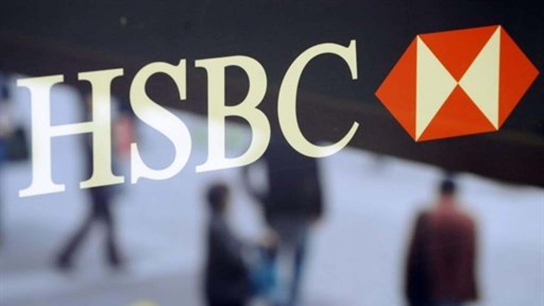 HSBC shares fall after half-year profit report | Fox News