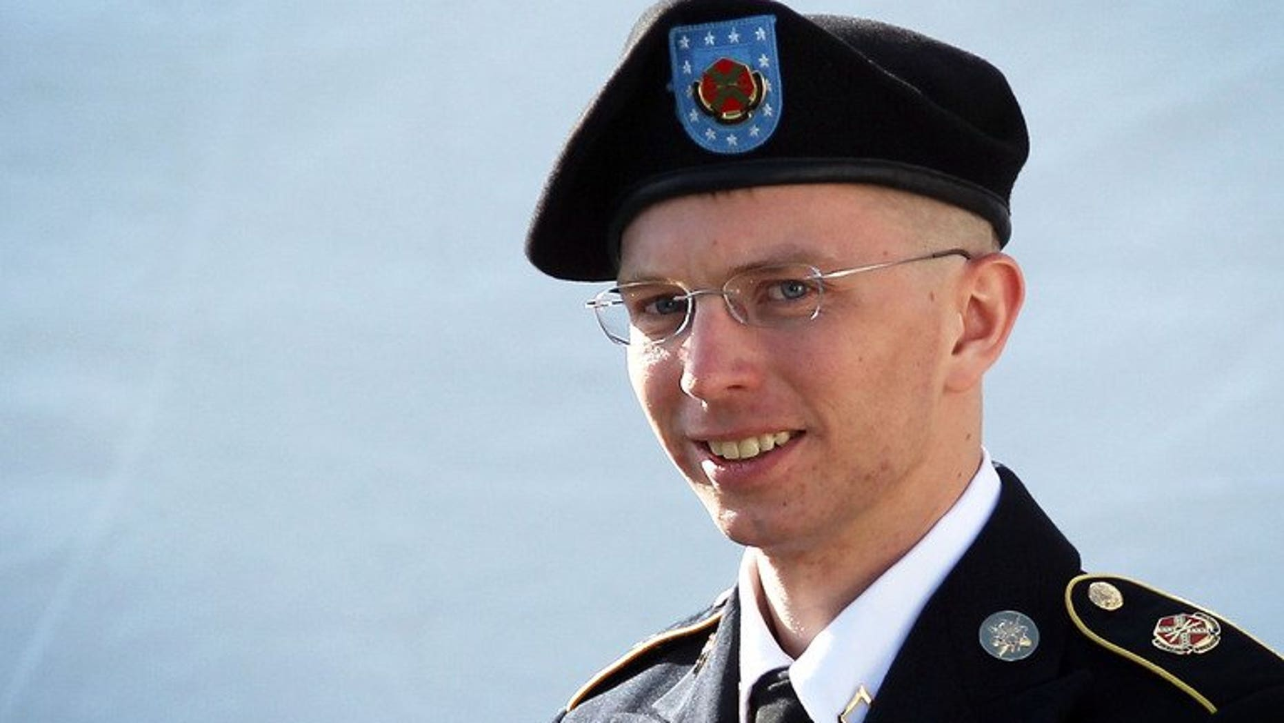 U.S. Army Private Bradley Manning is escorted as he leaves a military court at the end of the first of a three-day motion hearing June 6, 2012 in Fort Meade, Maryland. Supporters of Manning, the US soldier convicted of espionage for leaking secret files to WikiLeaks, presented a petition to the Nobel Institute on Monday backing his nomination for the Nobel Peace Prize.