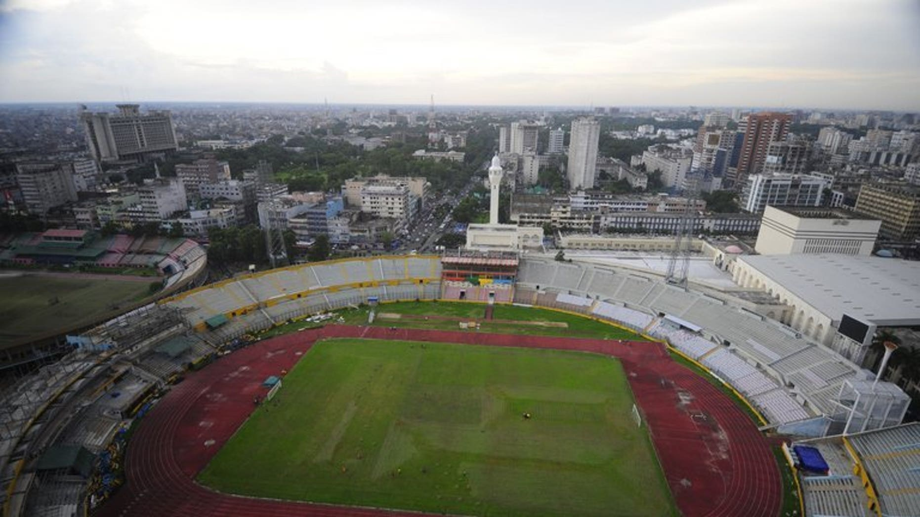 A general view of the Bangabandhu National Stadium in the Banladeshi capital Dhaka on September 20, 2010. The International Cricket Council (ICC) said Tuesday seven people have been charged over matching-fixing in the Bangladesh Premier League and another two were charged for failing to report corruption in the game.