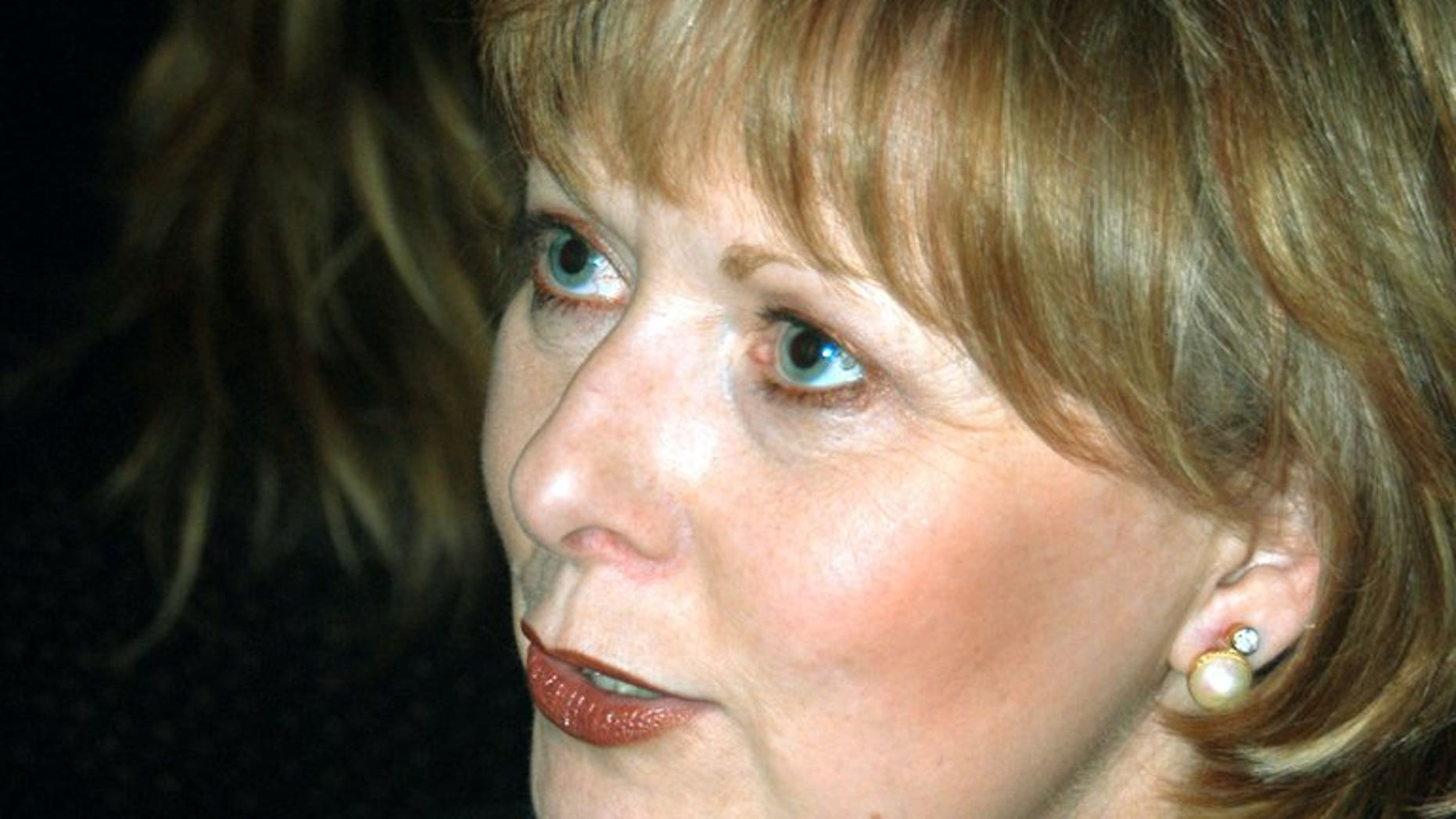 """Pamela Wallin in New York City on March 4, 2004. Canada's Senate on Tuesday asked federal police to investigate Wallin after an audit uncovered some """"troubling"""" travel expense claims, amid growing calls to abolish the upper chamber."""