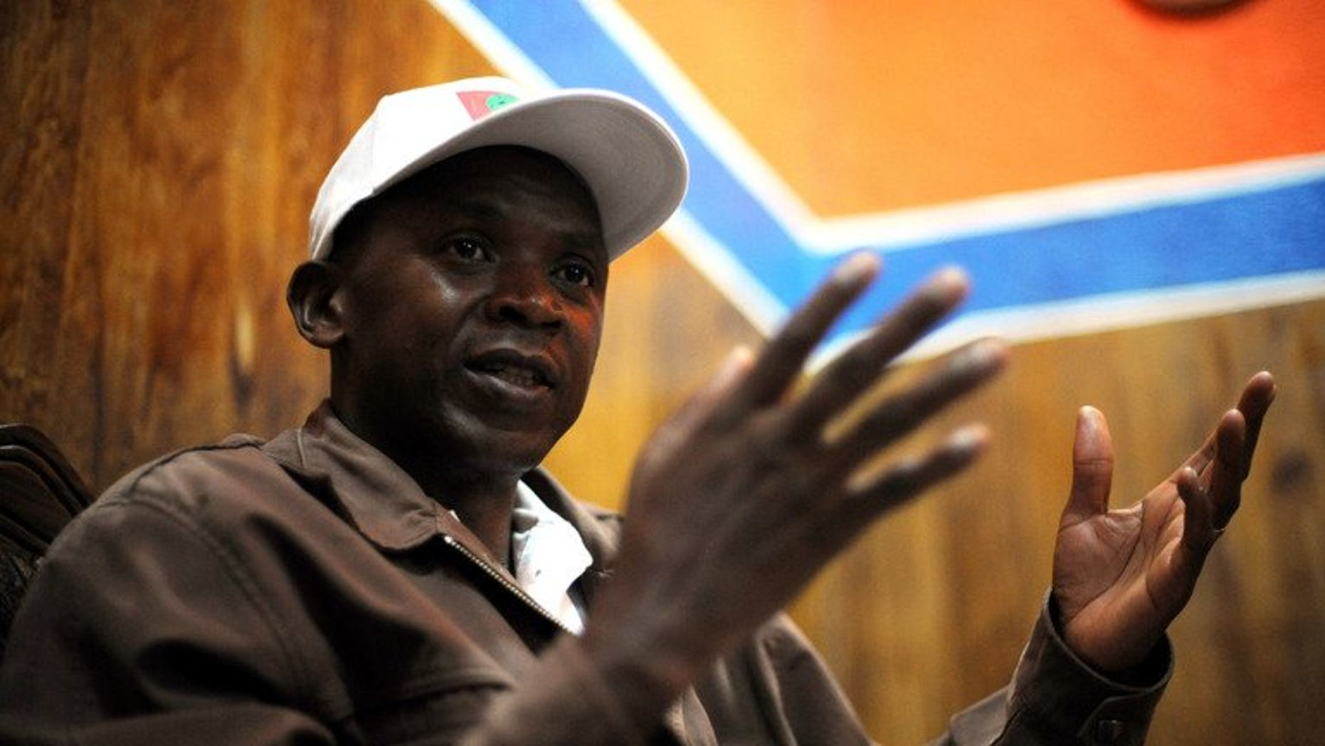 Agathon Rwasa in the south western Burundian town of Rumonge on May 12, 2010.