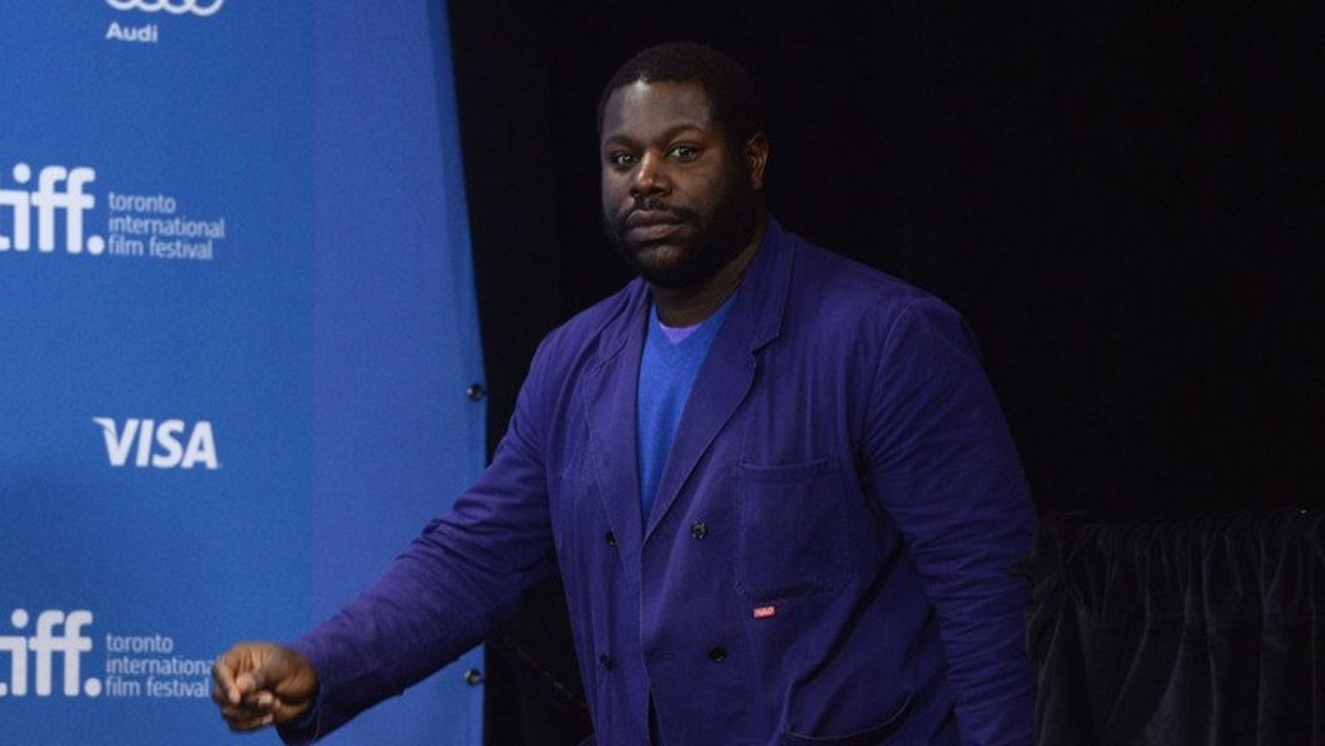 Director Steve McQueen attends a '12 Days A Slave' press conference during the 2013 Toronto International Film Festival on September 7, 2013.