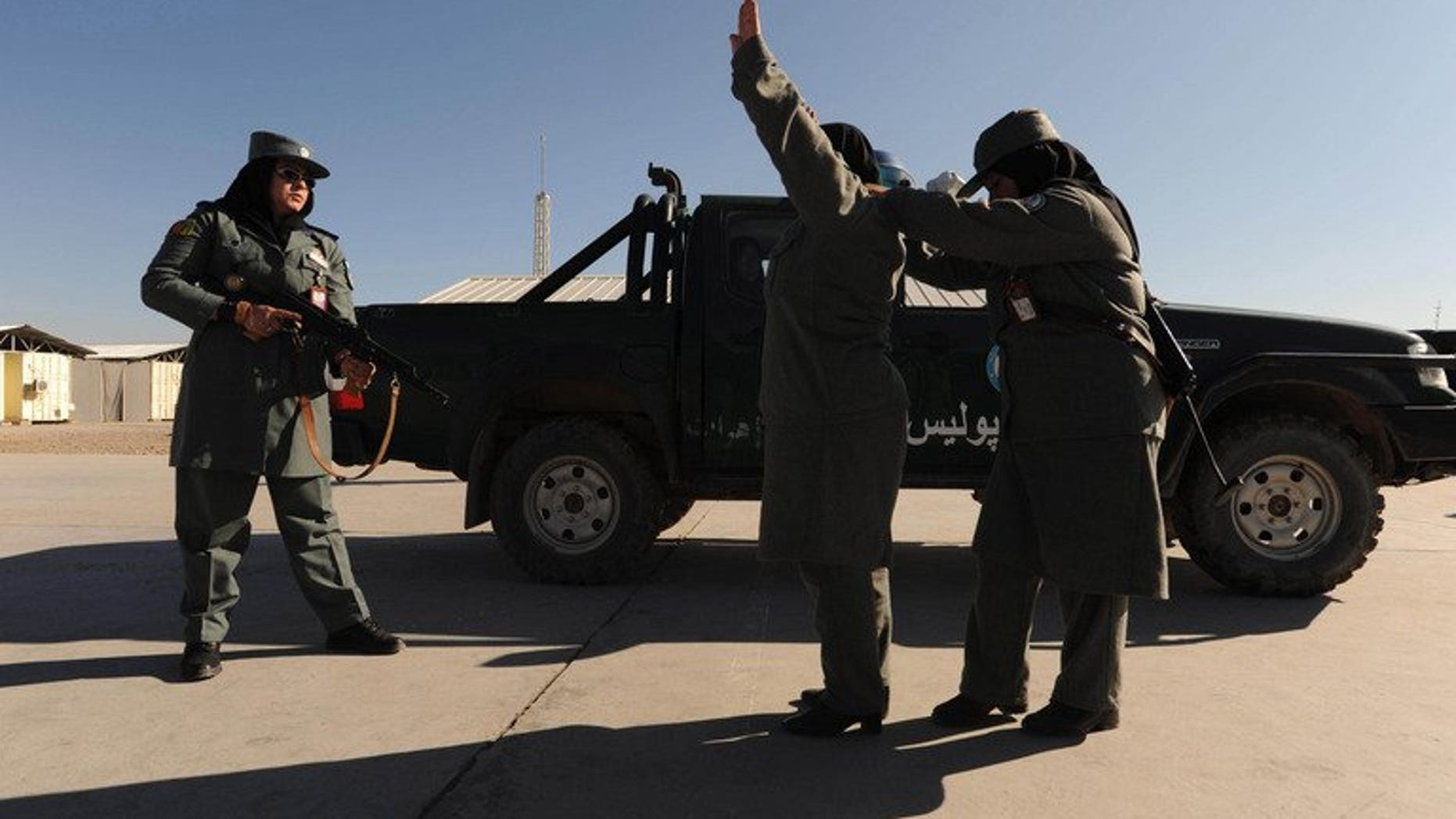 Afghan female police officers undergo training in Herat province on December 8, 2011. The top female police officer in restive Helmand province has died a day after being attacked.