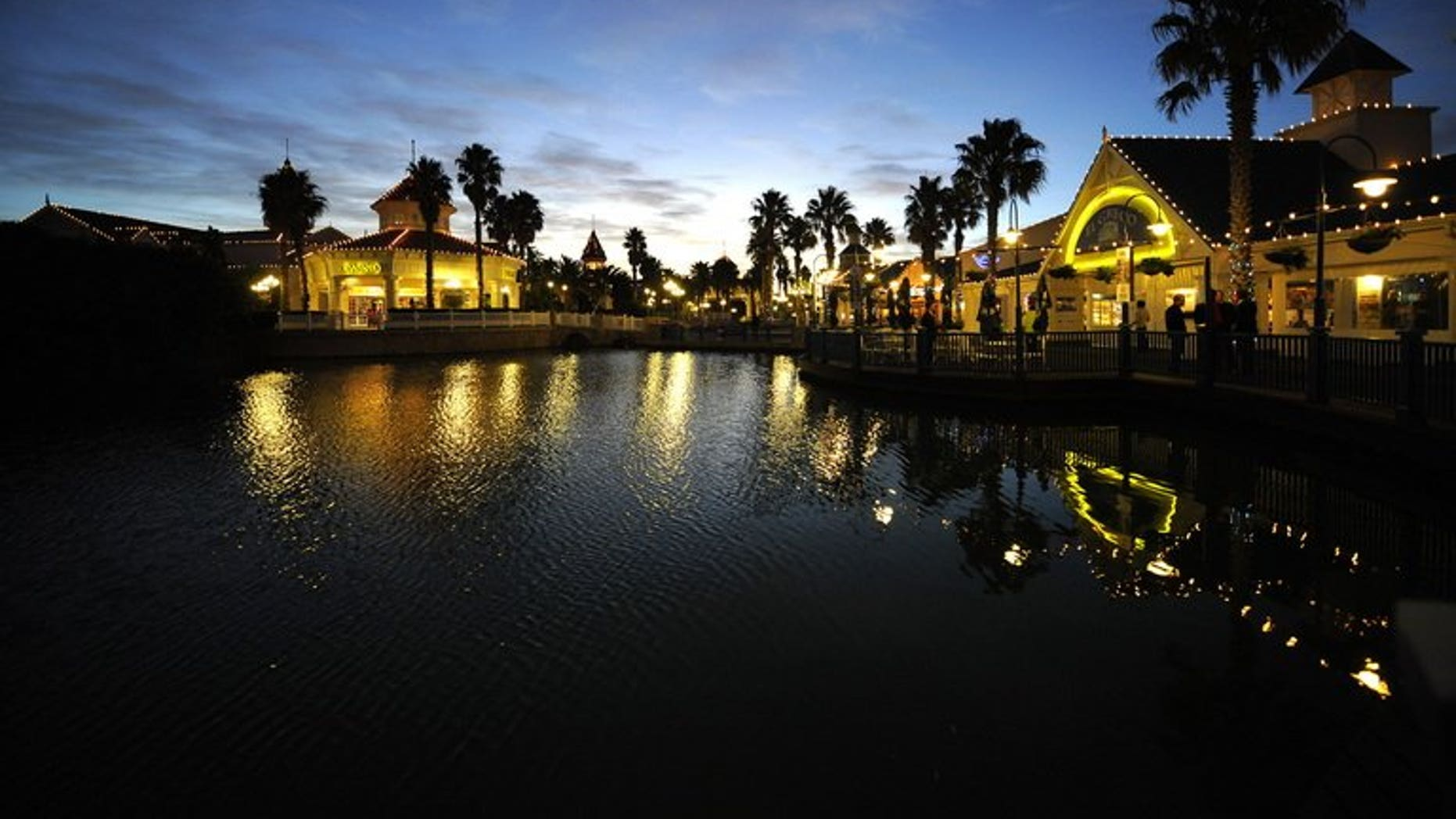 """A general view of the """"boardwalk"""" shopping center and casino on May 13, 2010 in Port Elizabeth, South Africa."""