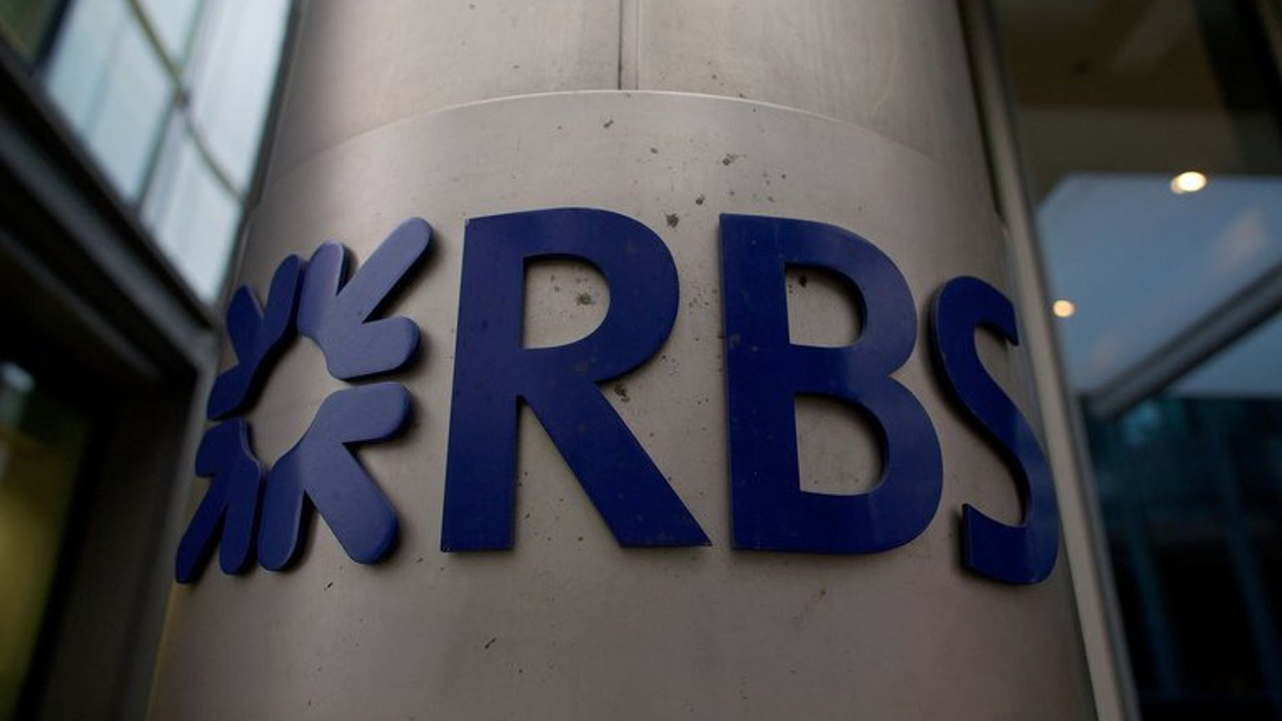 The Royal Bank of Scotland (RBS) London headquarters is pictured on February 28, 2013. The state-rescued bank has sold a further 20 percent of its insurance unit Direct Line Group for ??630 million ($1.01 billion, 748 million euros).