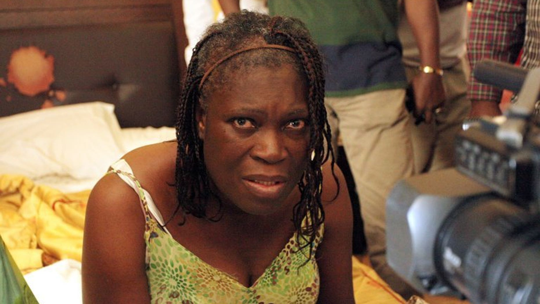 Simone Gbagbo, pictured on April 11, 2011, in Abidjan. Ivory Coast has decided not to transfer the former first lady to the International Criminal Court, which issued a warrant last year for suspected crimes against humanity.