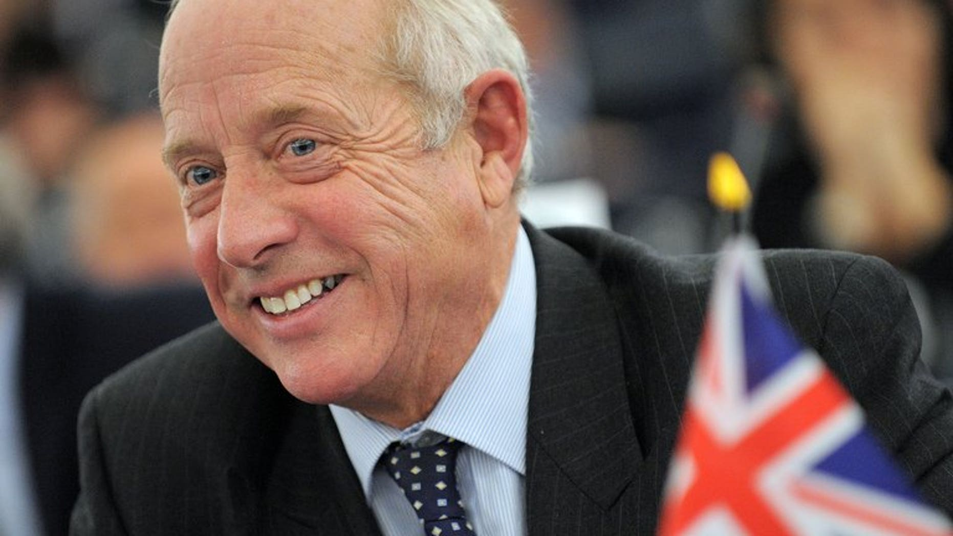 Britain's United Kingdom Independence Party (UKIP) and member of the European Parliament Godfrey Bloom is pictured at the European Parliament in Strasbourg, eastern France, on November 24, 2010.