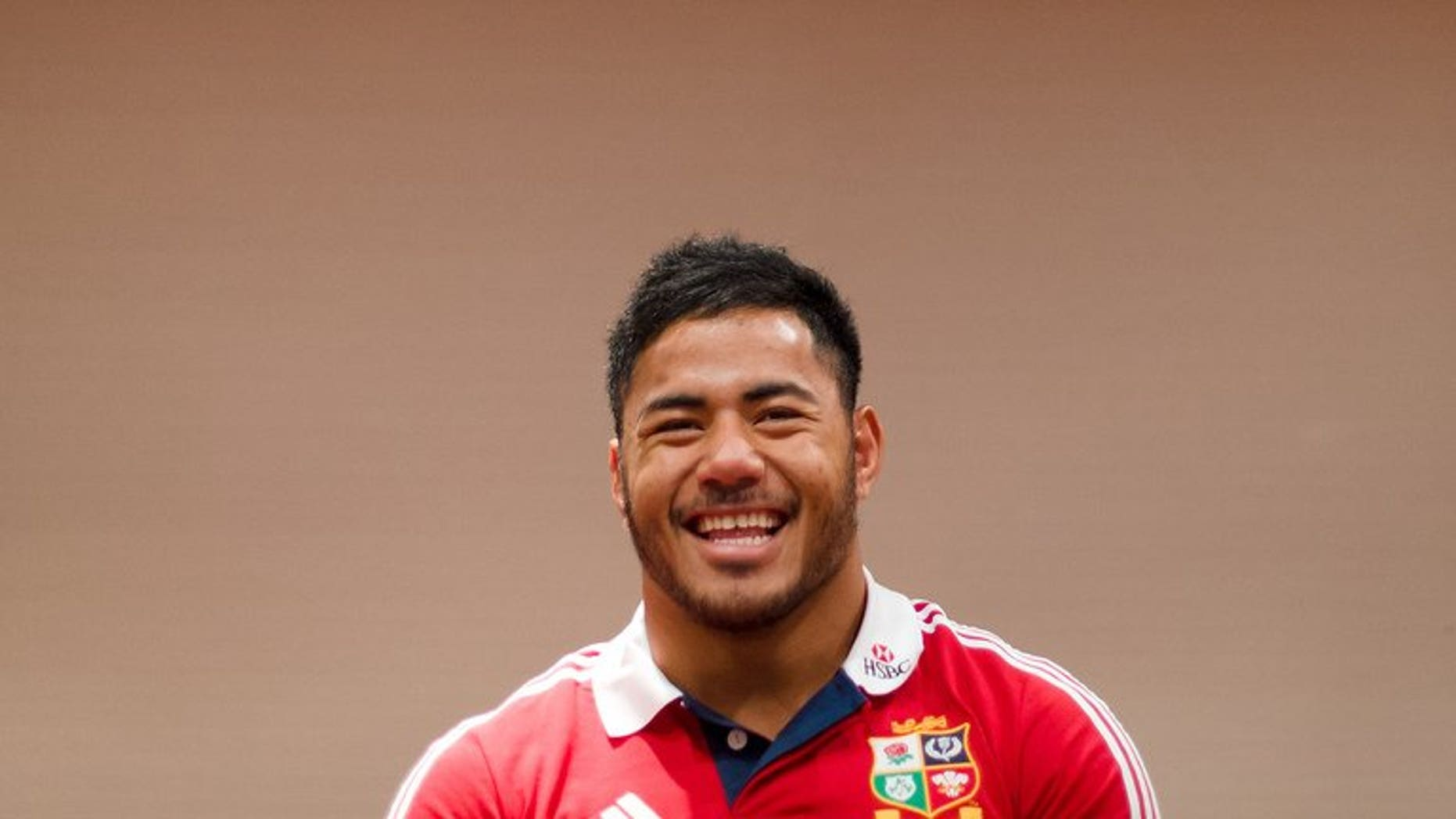 Manu Tuilagi, pictured on May 27, 2013, ended a tricky week making headlines for the right reasons after starring in English Premiership champions Leicester's 31-6 victory at home to Newcastle on Saturday.