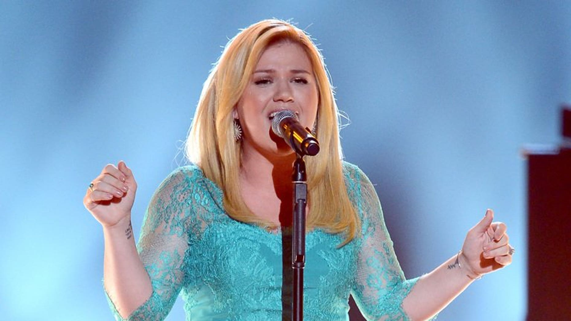 US singer Kelly Clarkson performs during the Annual Academy of Country Music Awards in Las Vegas, Nevada on April 7, 2013. The singer has been foiled in her attempt to take home a ring once owned by Jane Austen, after a British museum said it had raised enough money to buy it back.