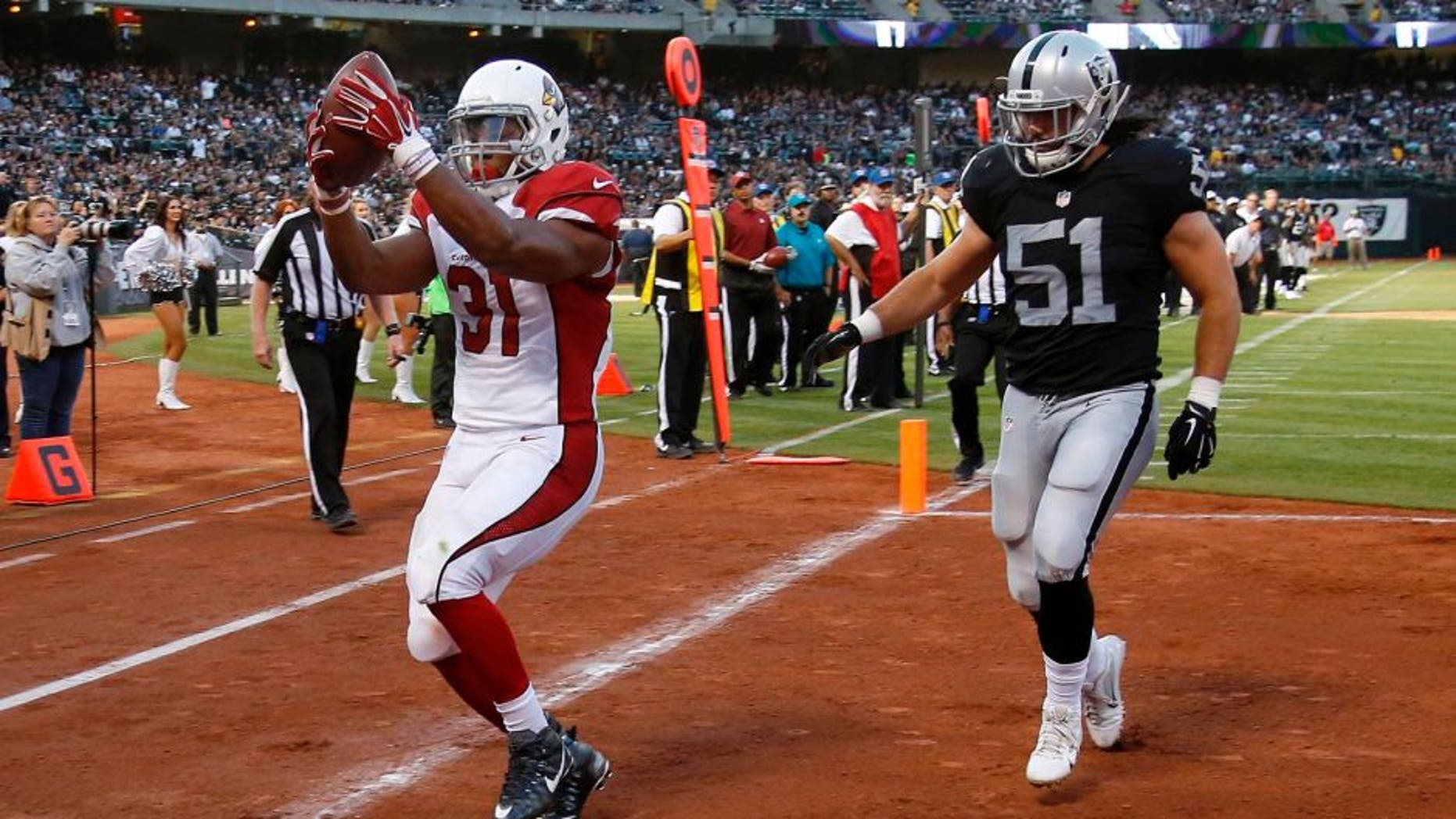 Cardinals Raiders Football